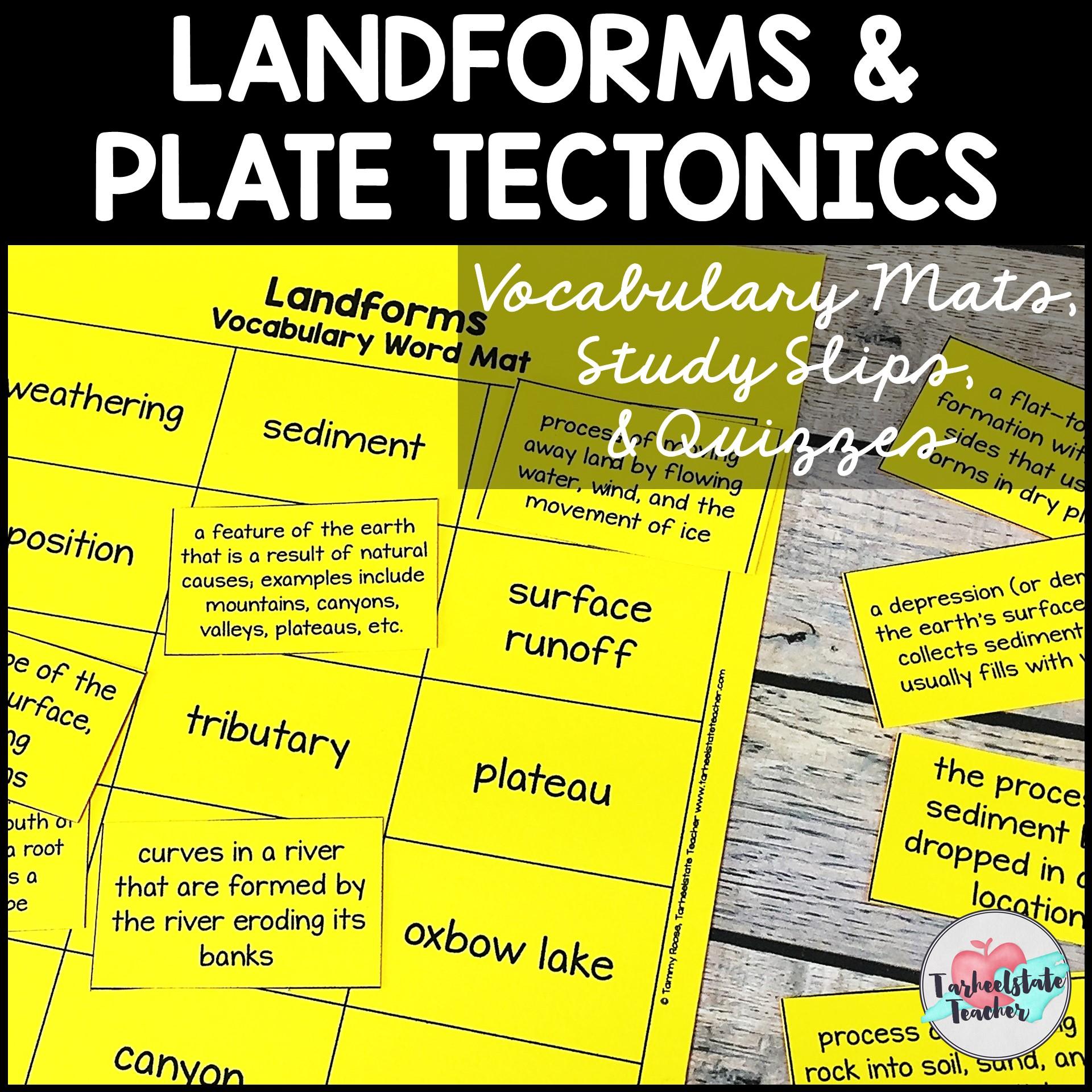 landforms vocabulary mats weathering erosion.JPG