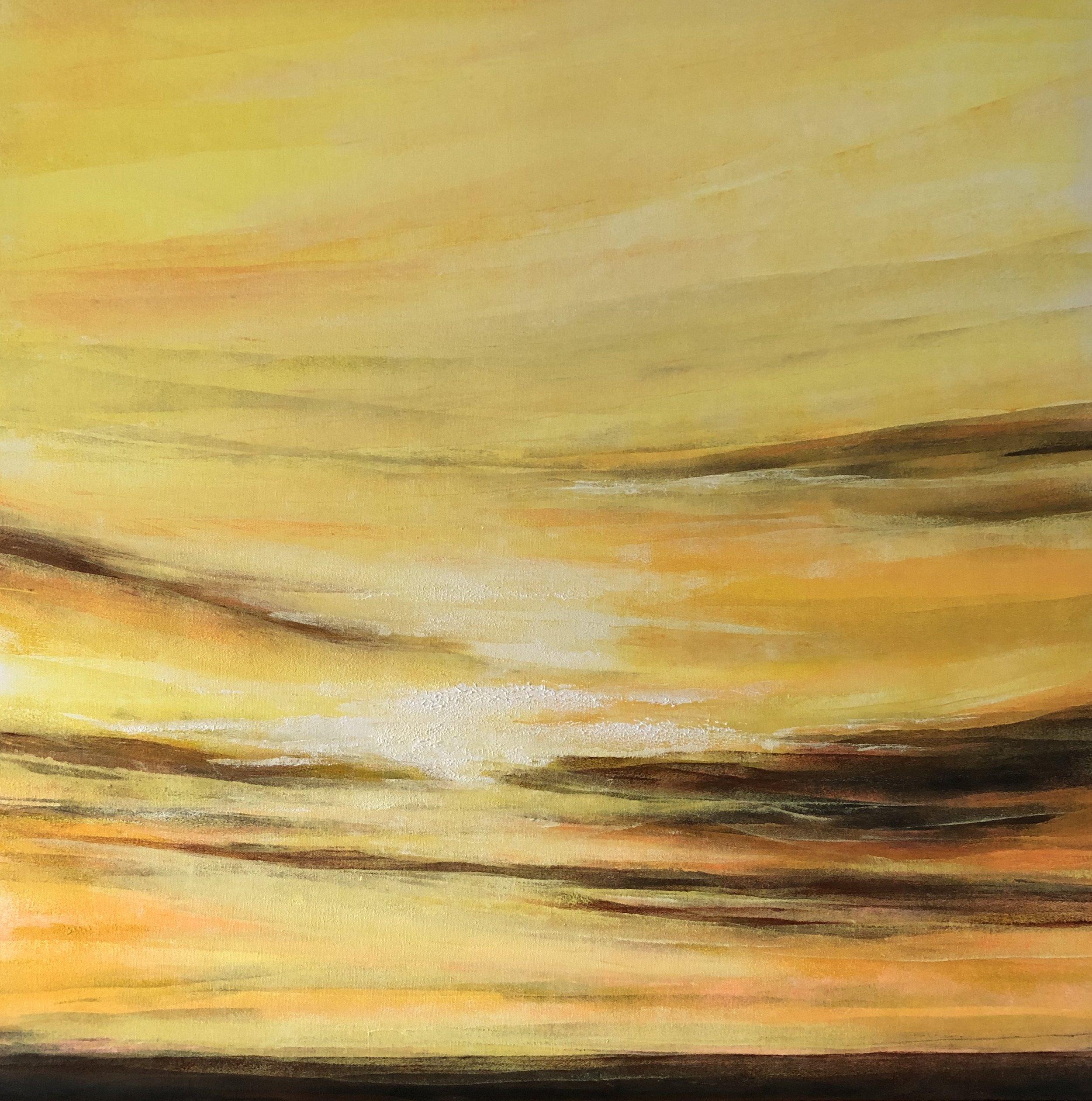 Acrylic on Canvas  80 x 80 cm