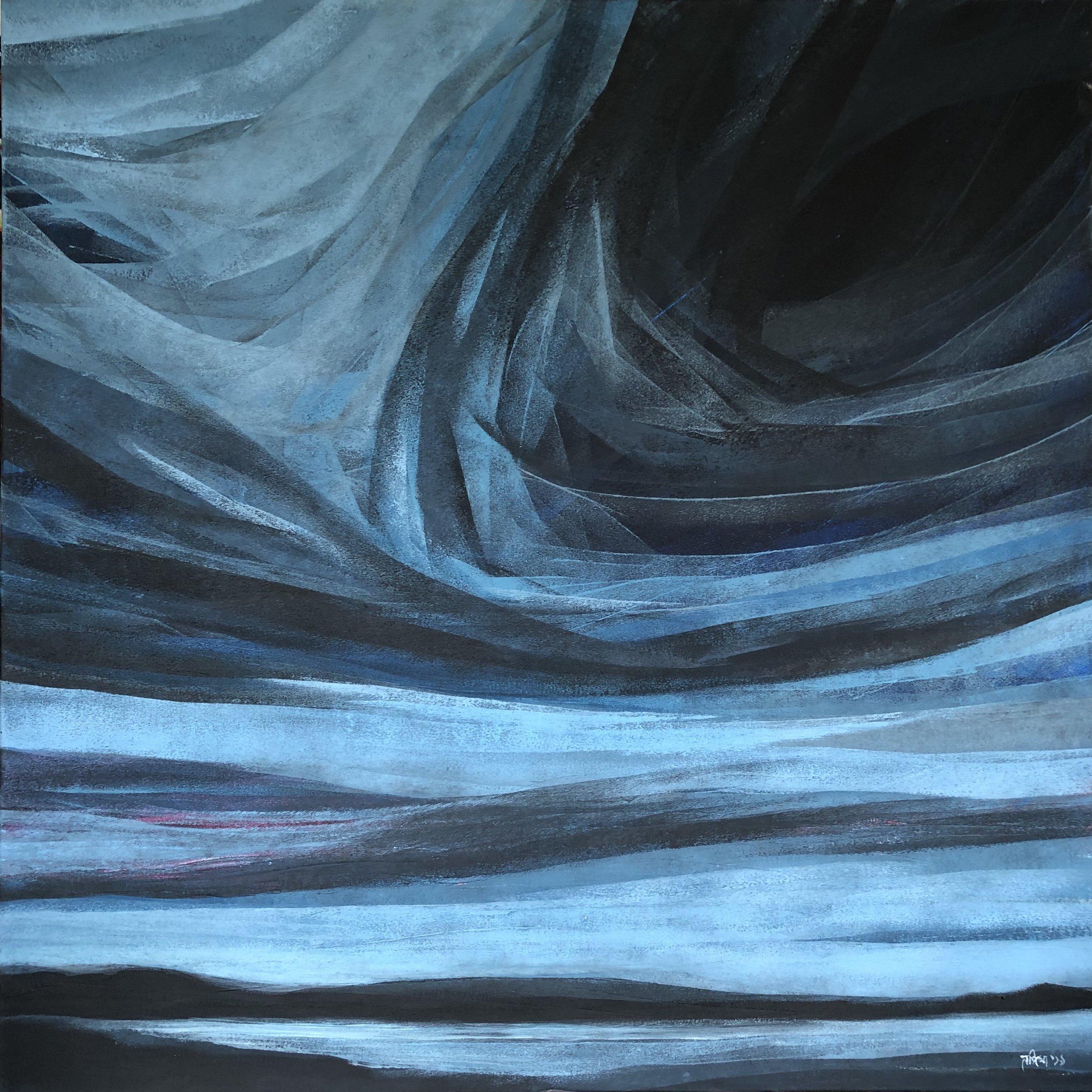 80 X 80 cm  Acrylic on Canvas