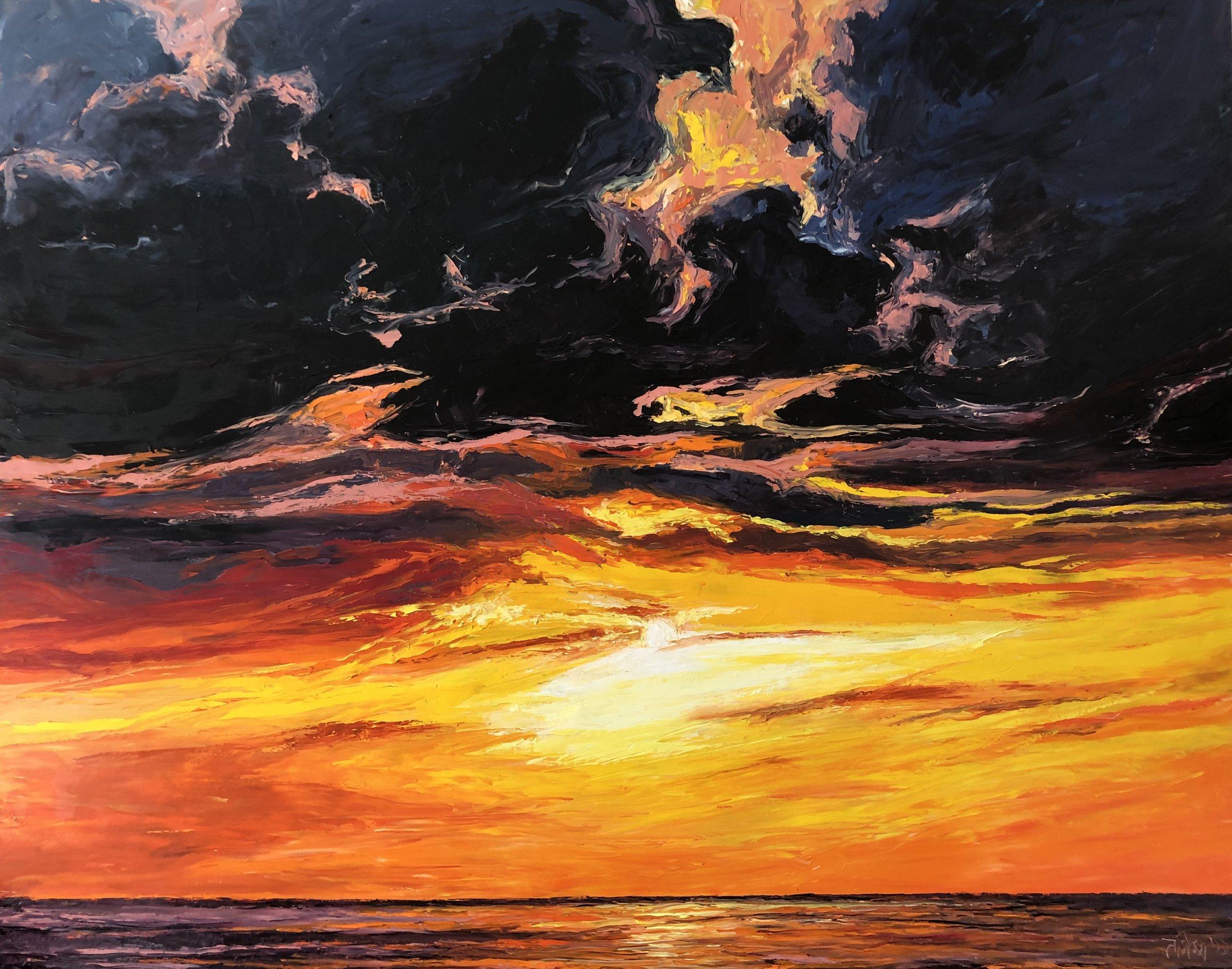 120. x 150 cm  Oil on Canvas