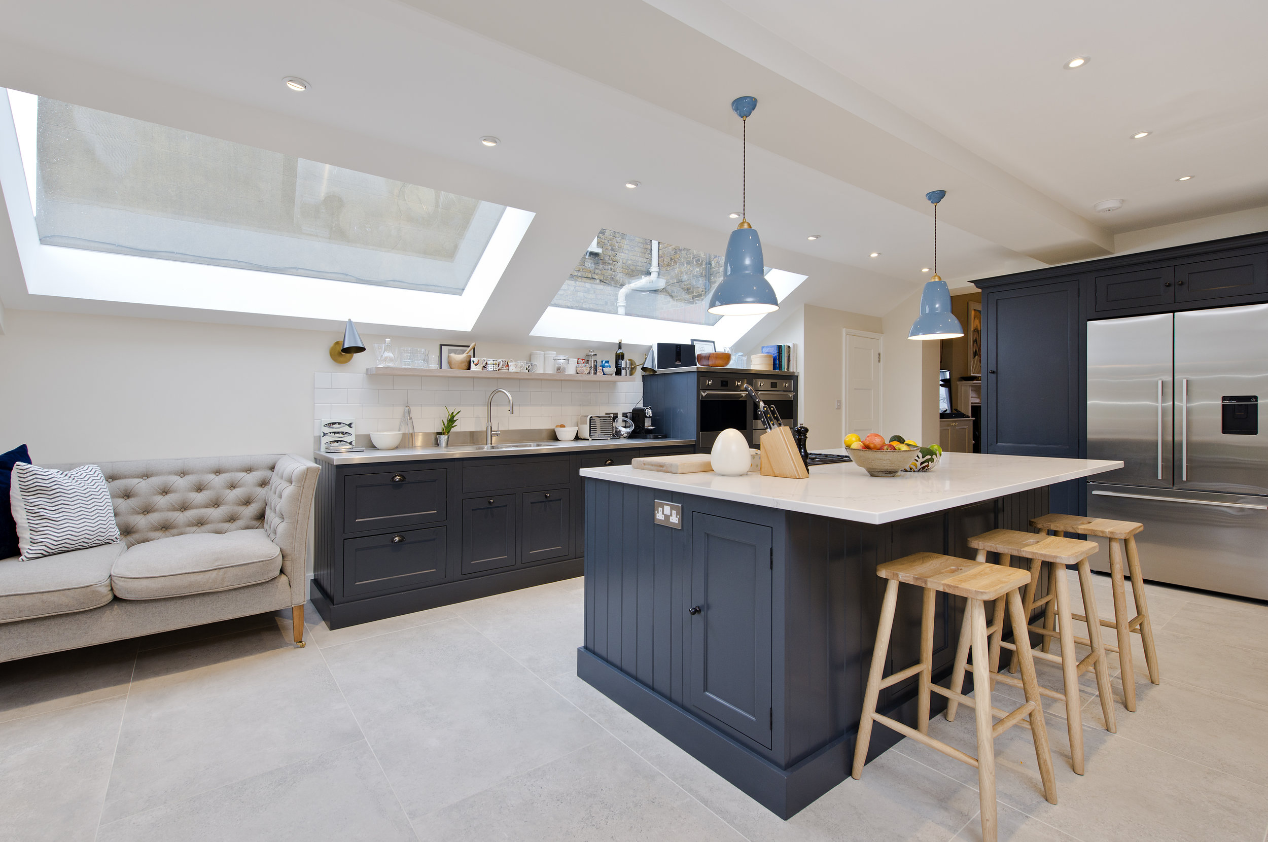 Stunning Kitchen Extension in Shepherd's Bush by the Kitchen and Loft Company