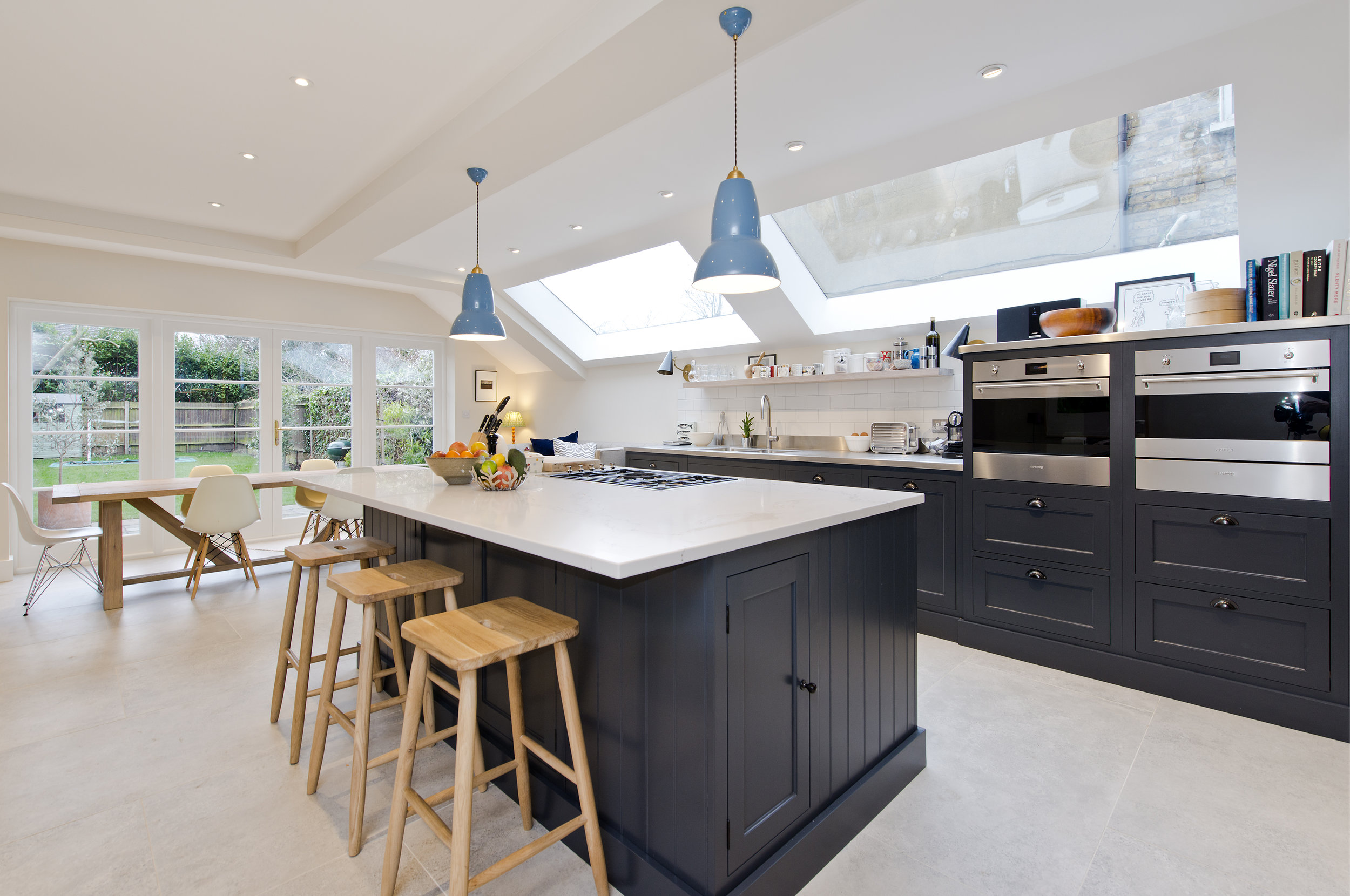 Luxury Kitchen Extension, W12, The Kitchen and Loft Company