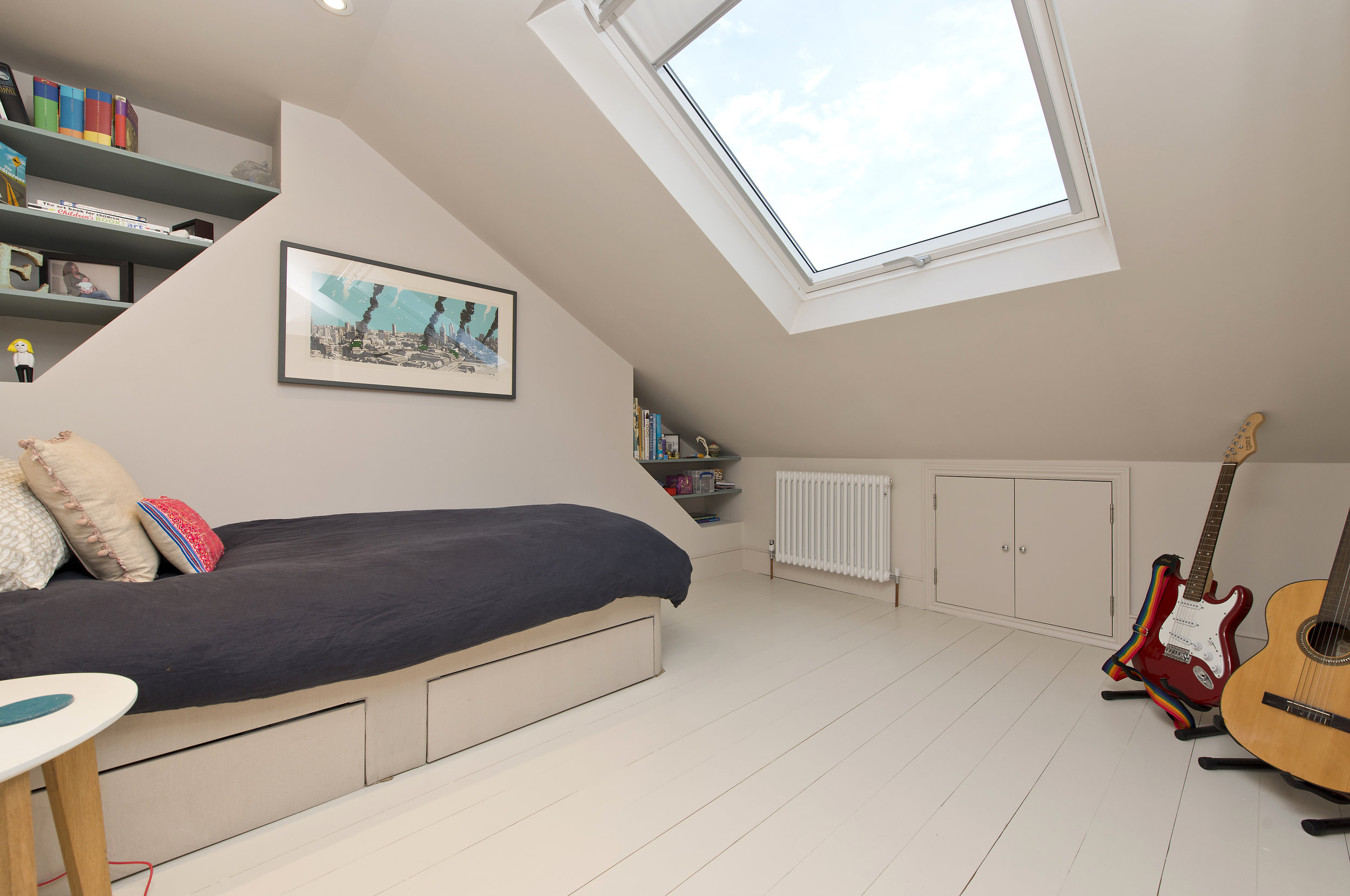 Another stunning Loft conversion in Shepherd's Bush by The Kitchen and Loft Company.