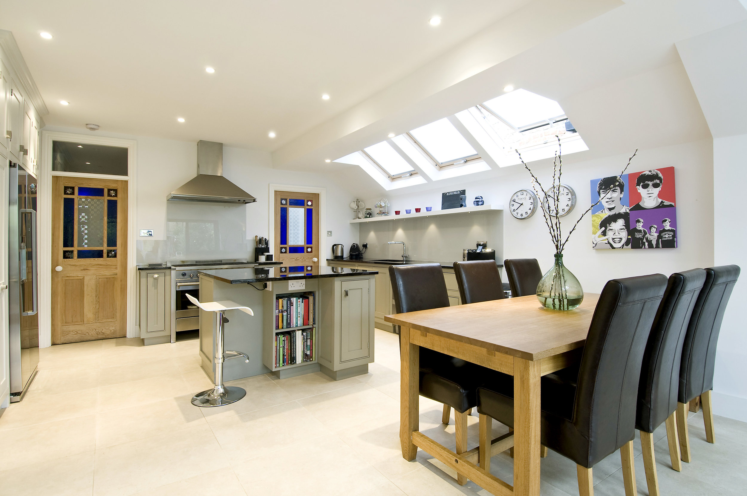 Kitchen Extension, Fulham, The Kitchen and Loft Company.