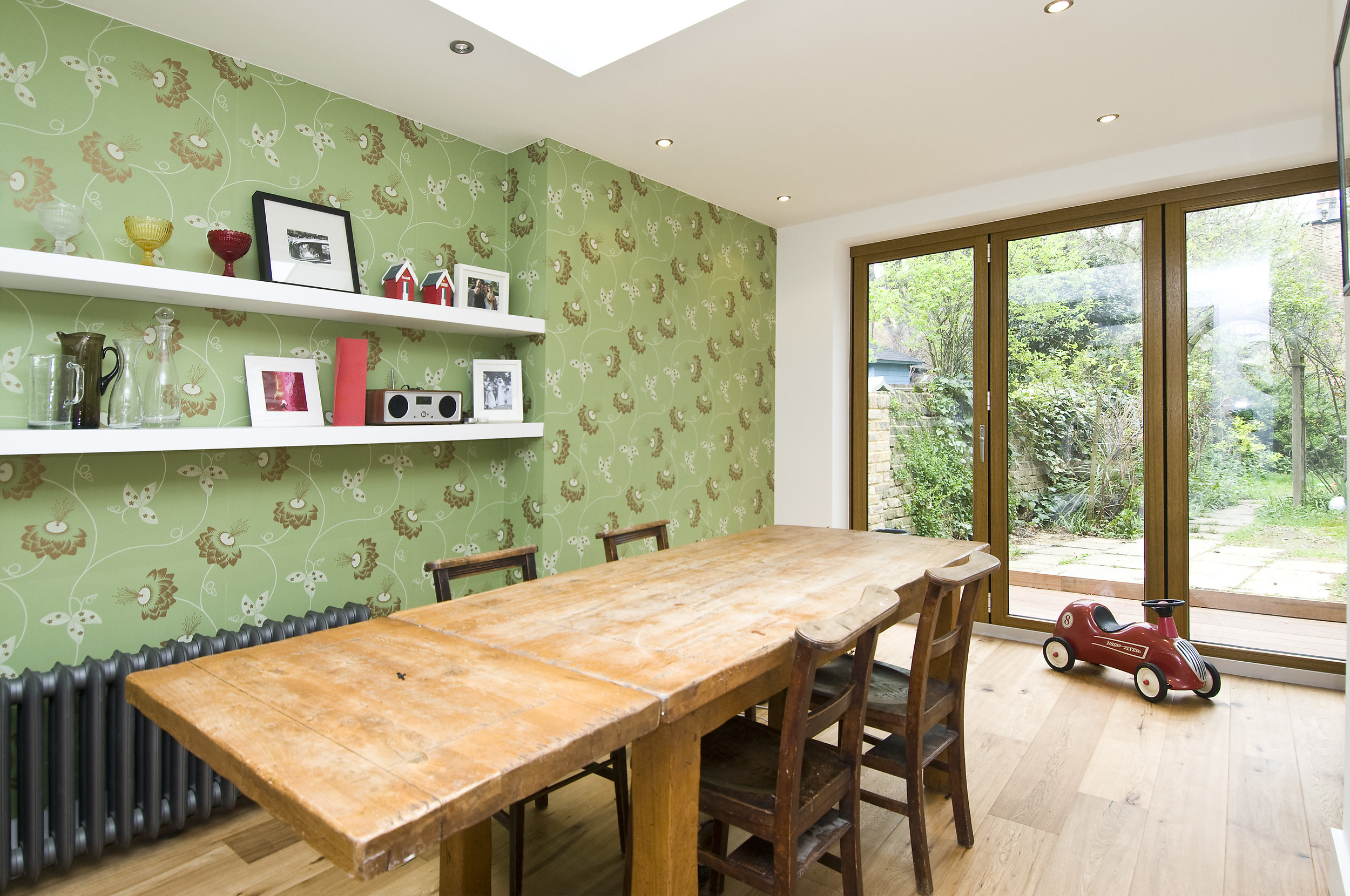 Kitchen Extension, Dining Room, W12, The Kitchen and Loft Company.