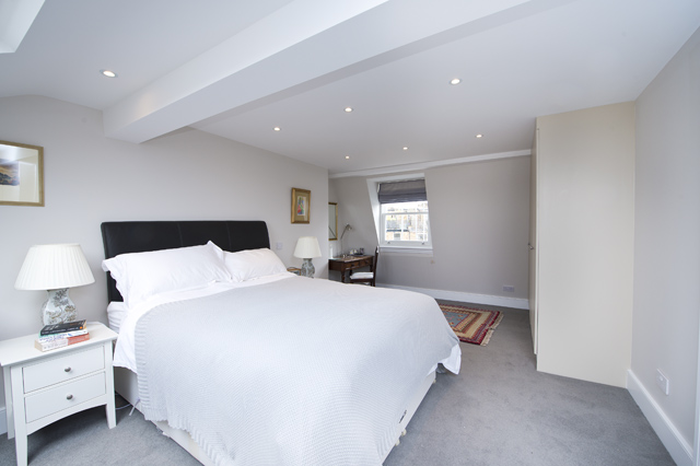 Guest Bedroom, Loft conversion. W6, The Kitchen and Loft Company.