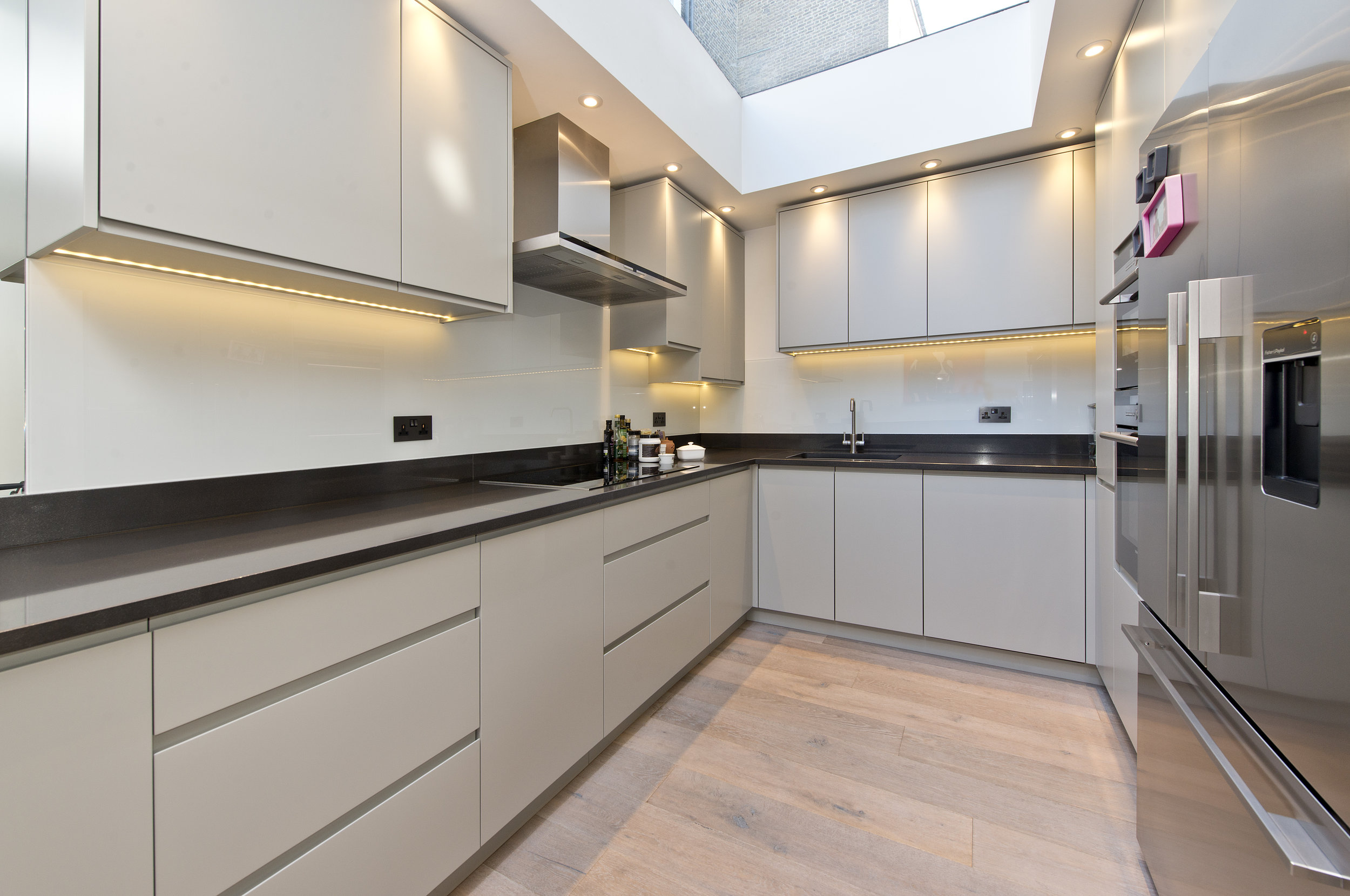 Bespoke Kitchen with a difference, Holland Park, The Kitchen and Loft Company.