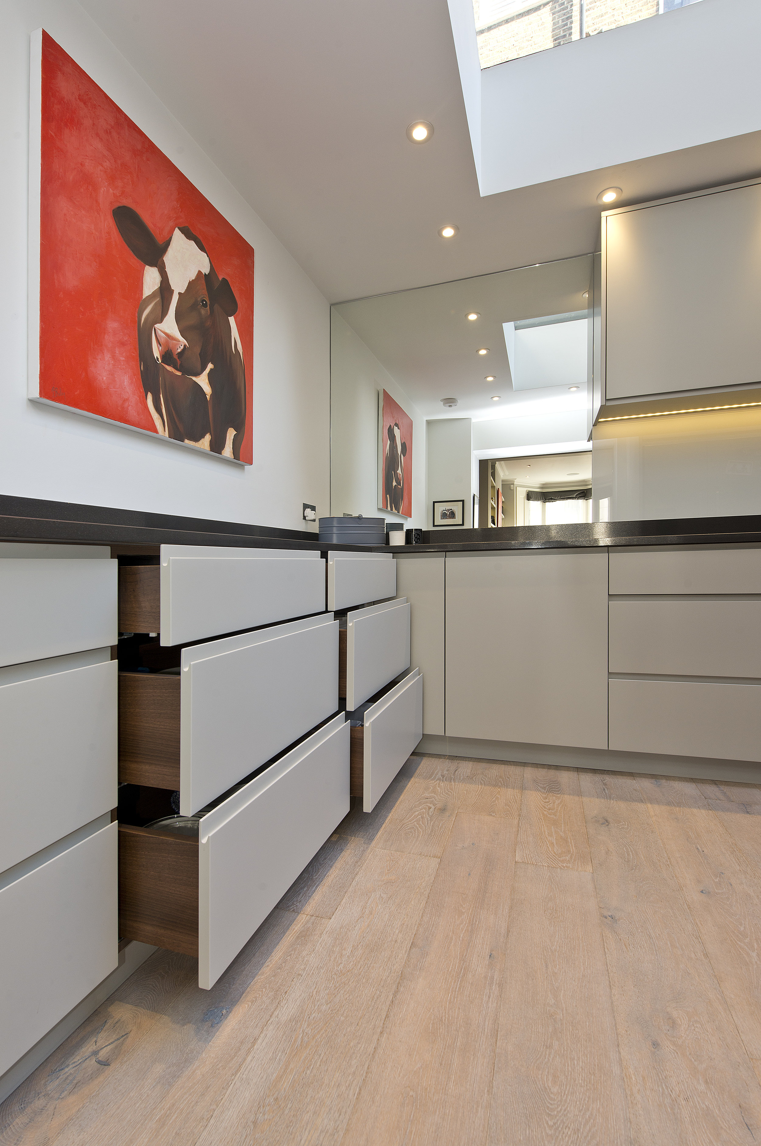 Bespoke design and build Kitchen, The Kitchen and Loft Company.