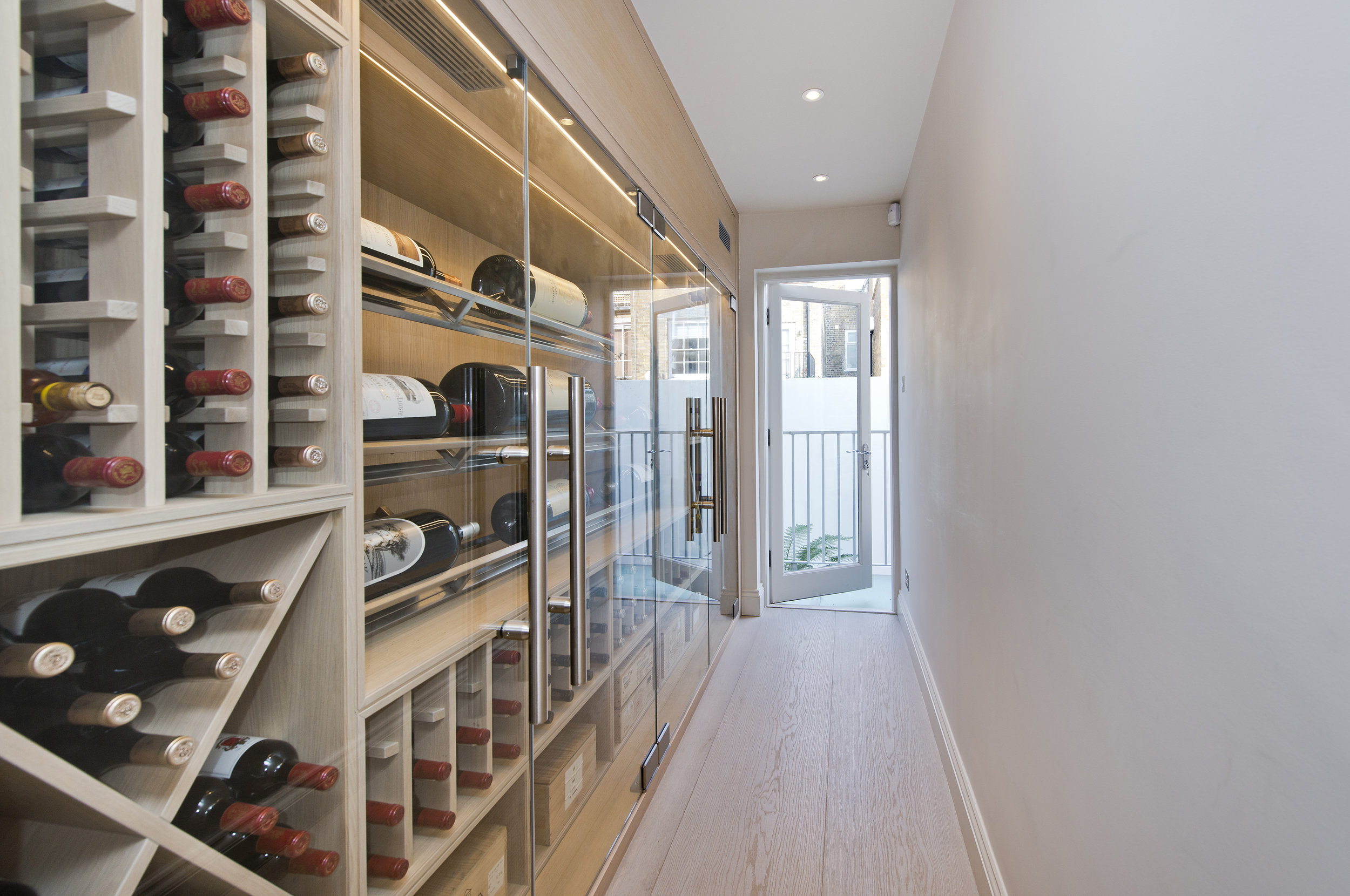 Wine Cabinet, Chelsea, The Kitchen and Loft Company.