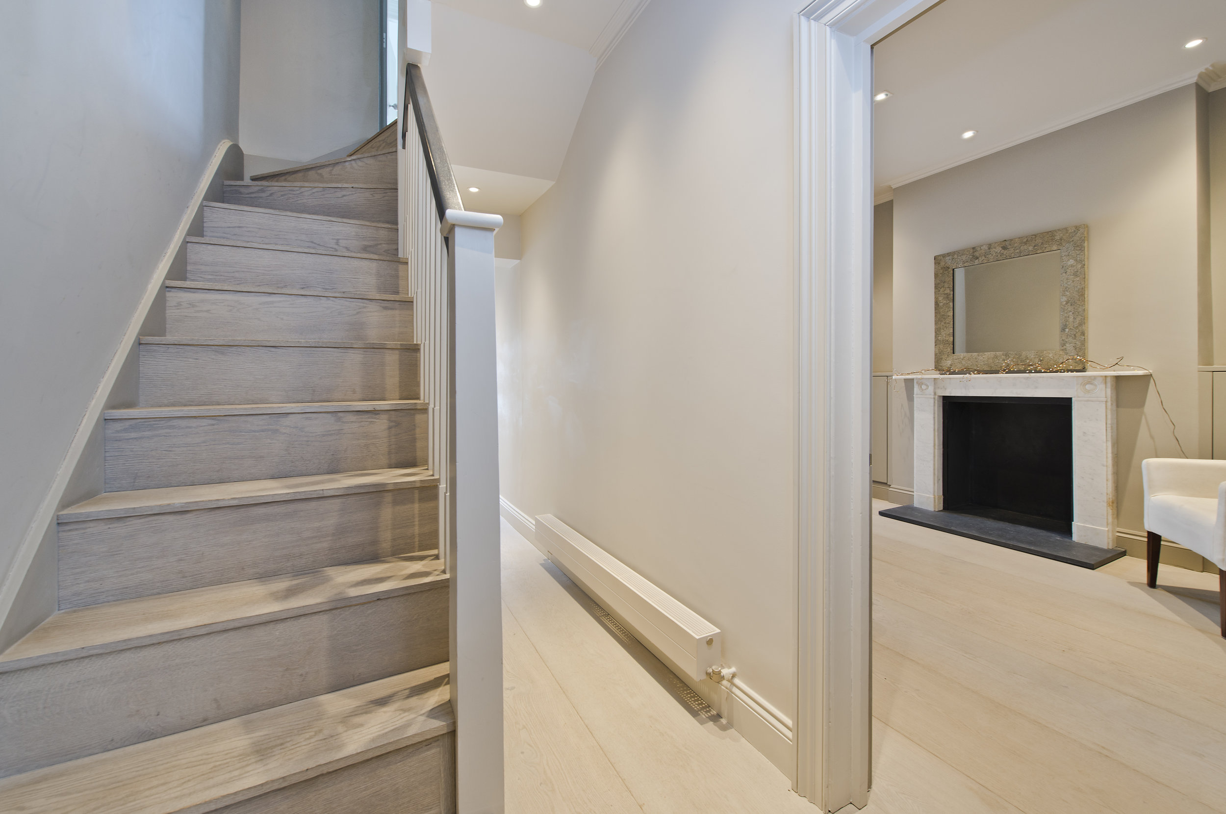 Bespoke Stairwell, Chelsea, The Kitchen and Loft Company.