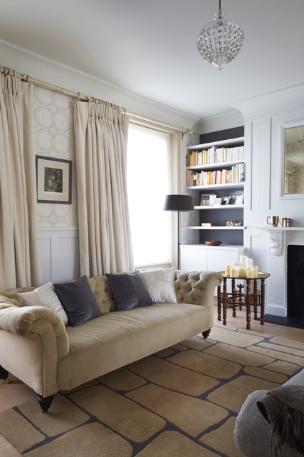 Living Room, project, Notting Hill, The Kitchen and Loft Company