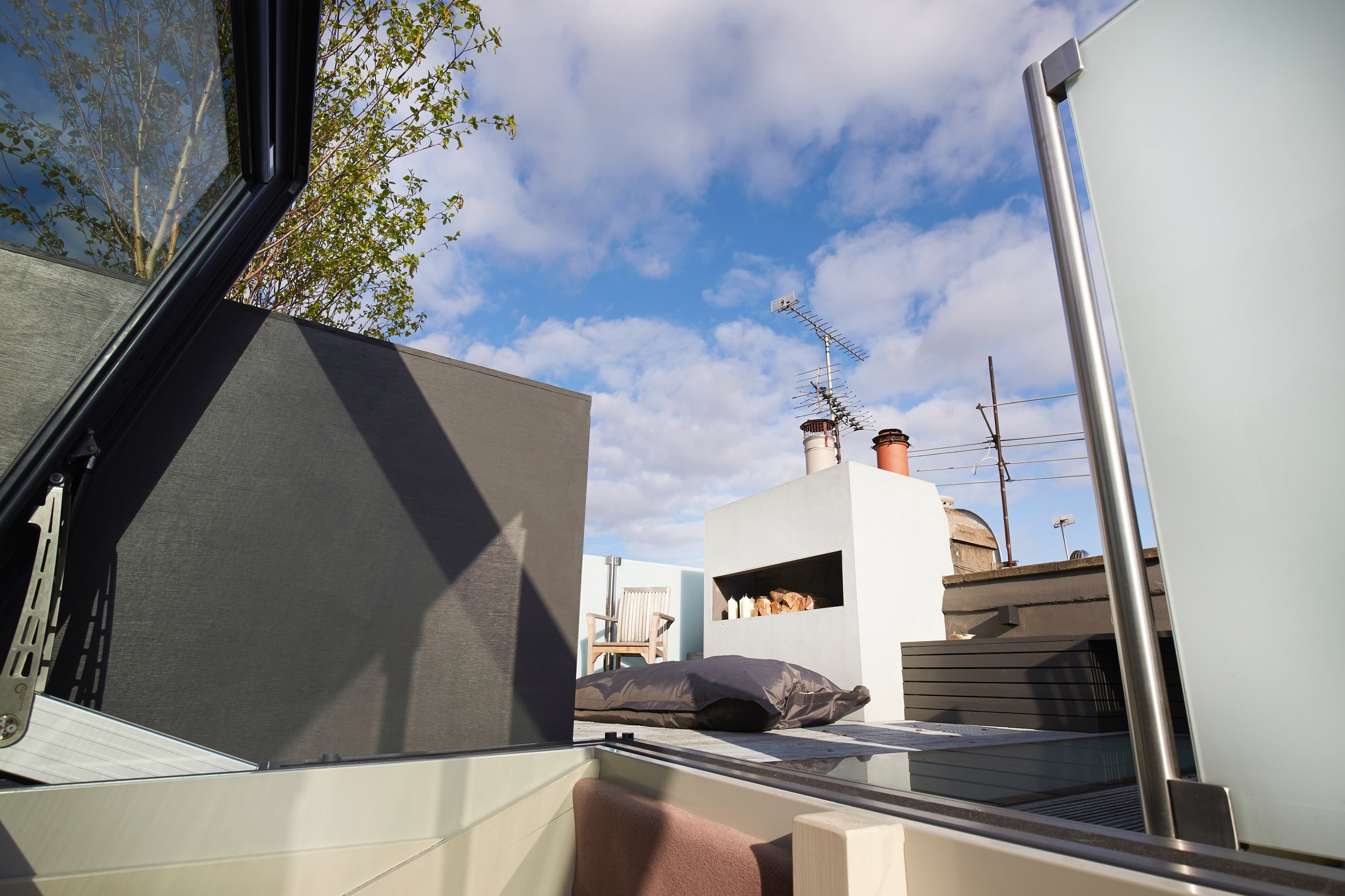 Roof Terrace Notting Hill, The Kitchen and Loft Company.