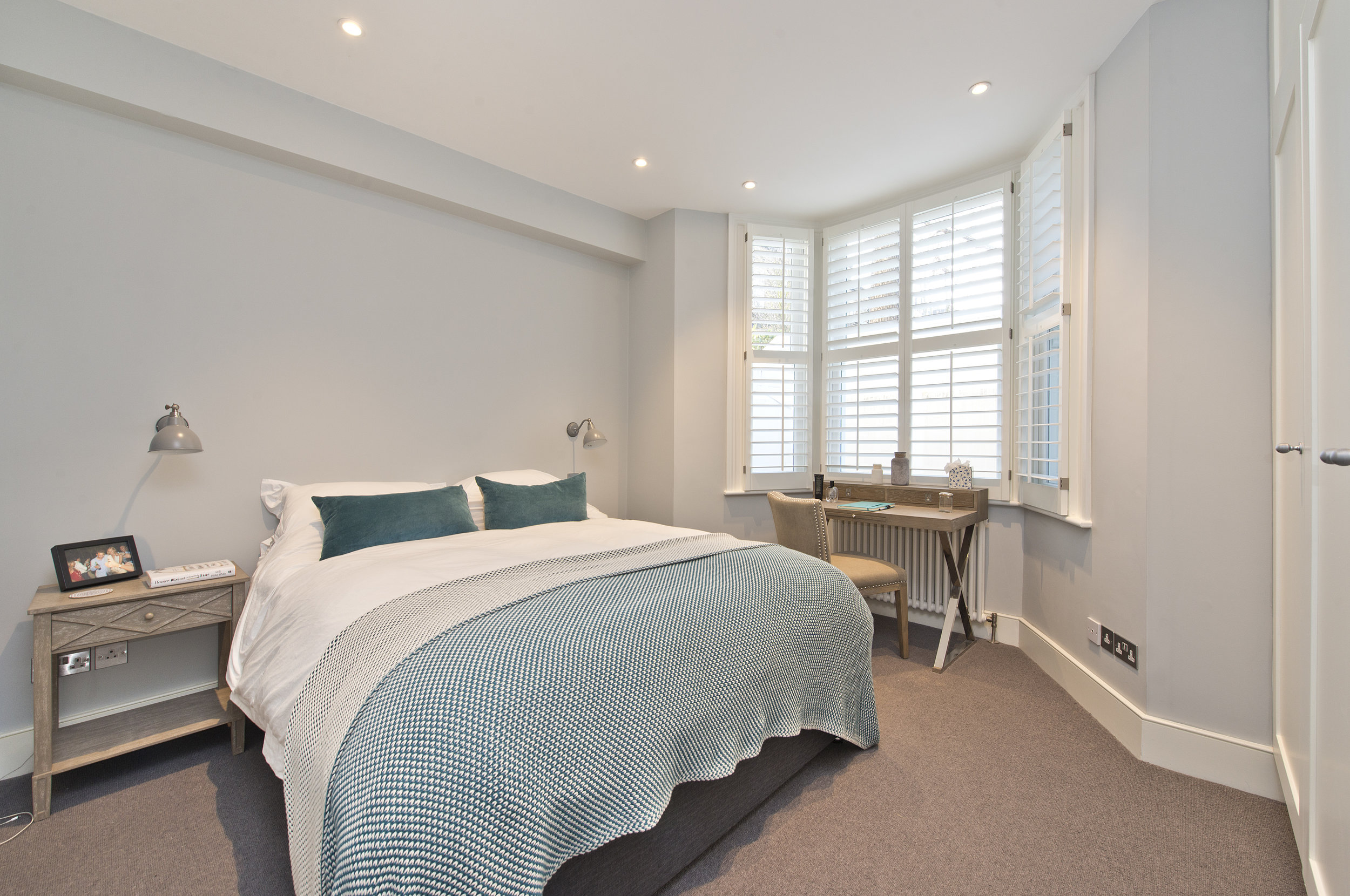 Custom design Bedroom,  Brook Green, The Kitchen and Loft Company.