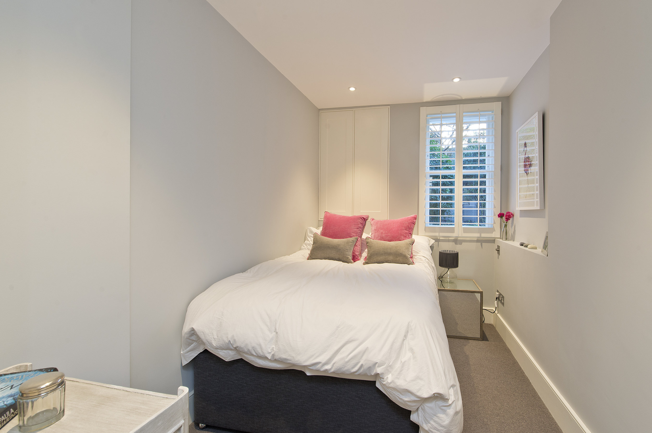 Bespoke design Guest Room,  Brook Green, The Kitchen and Loft Company.