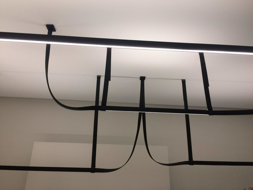 Belt light by Bouroullec brothers. FLOS