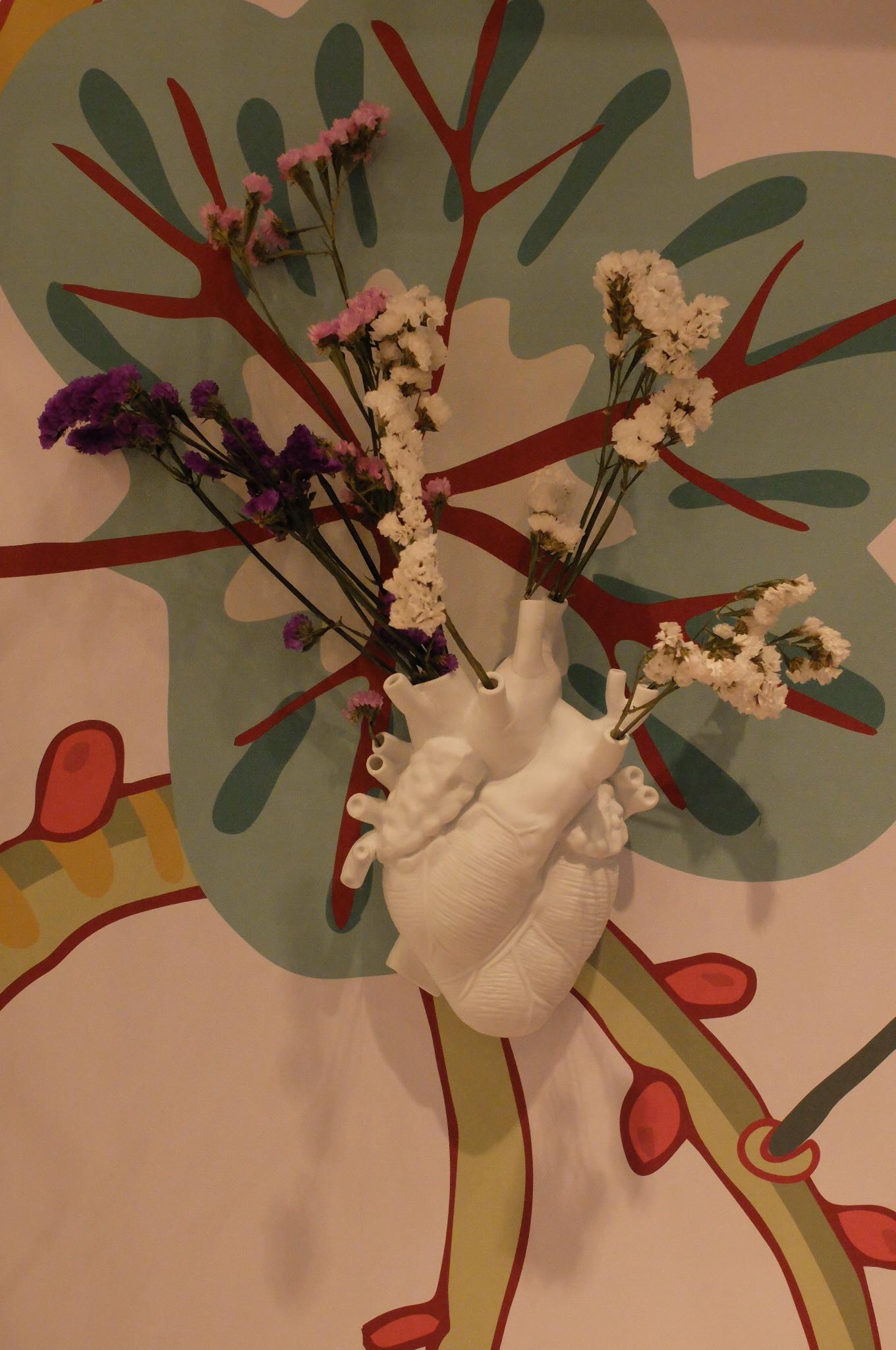 Love in bloom vase par Marcantonio. SELETTI