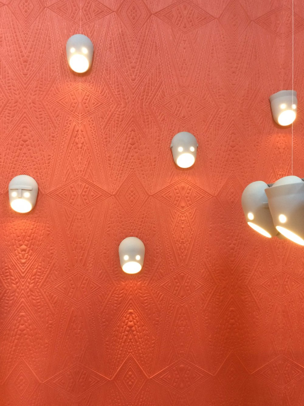 The Party wall lamps by Kranen/Gille. MOOI