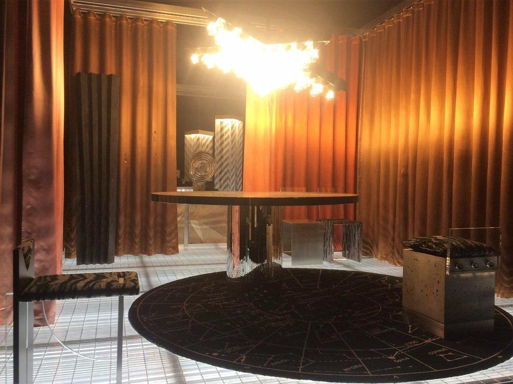 Interstellar exhibition, dining room by DIMORESTUDIO