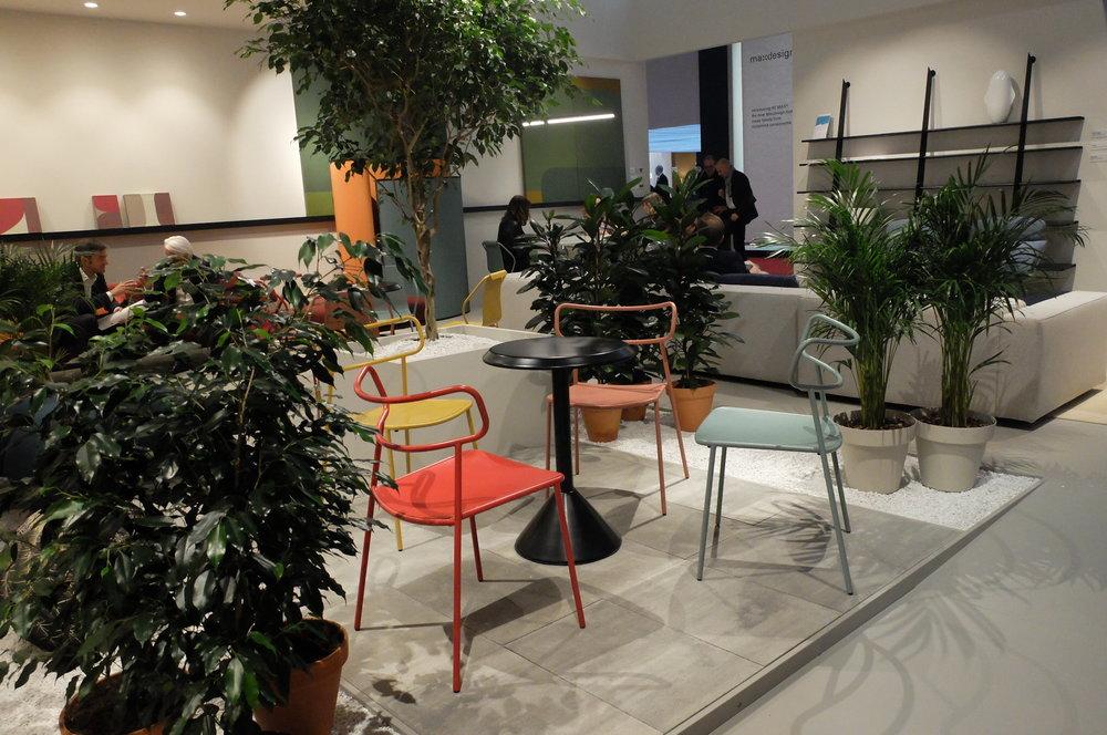 Paloma chair par Radice Orlandini designstudio. BALERI ITALIA