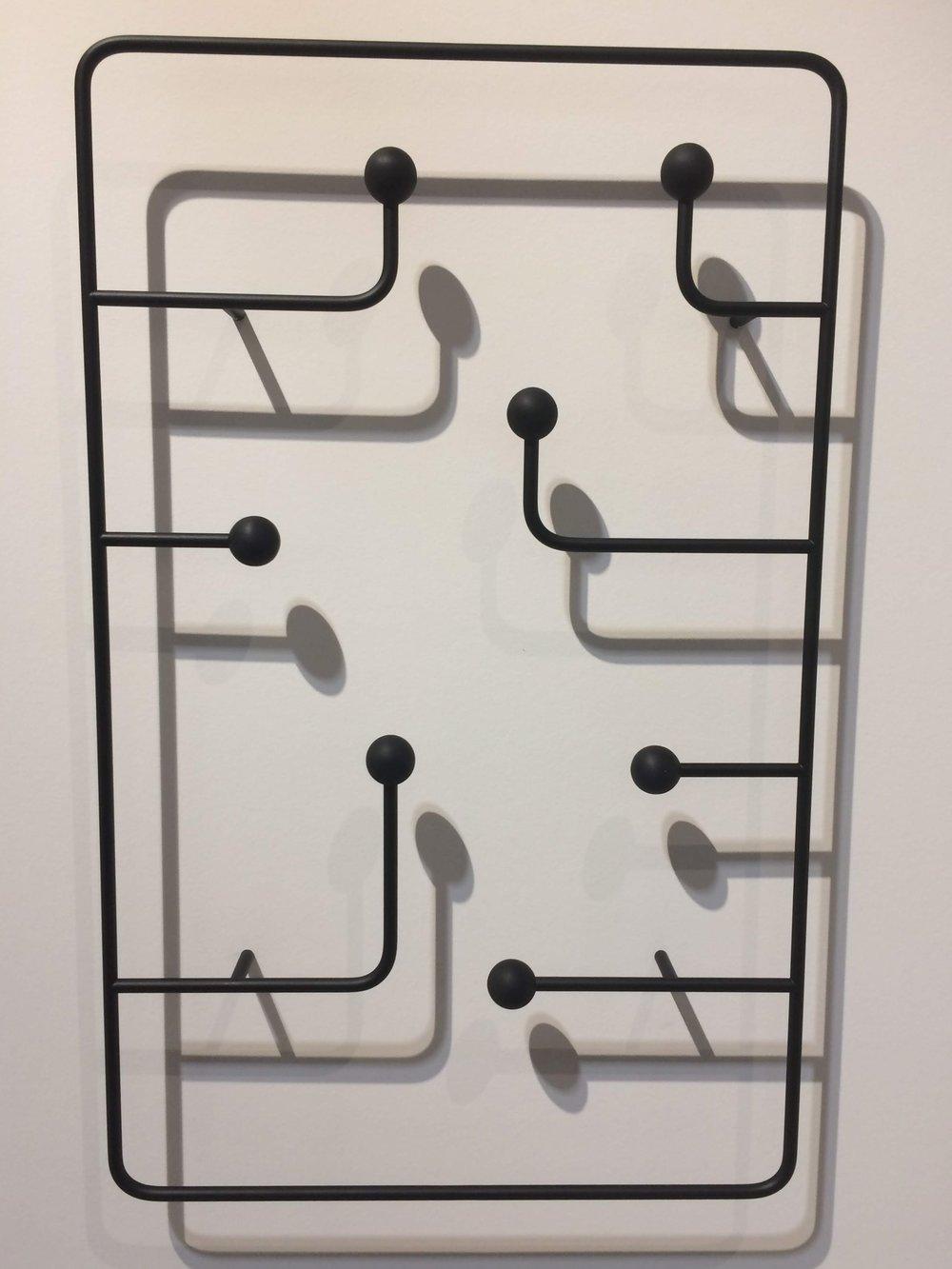 Hang Around coat rack by Joy Charbonneau & Derek McLeod. KARAKTER