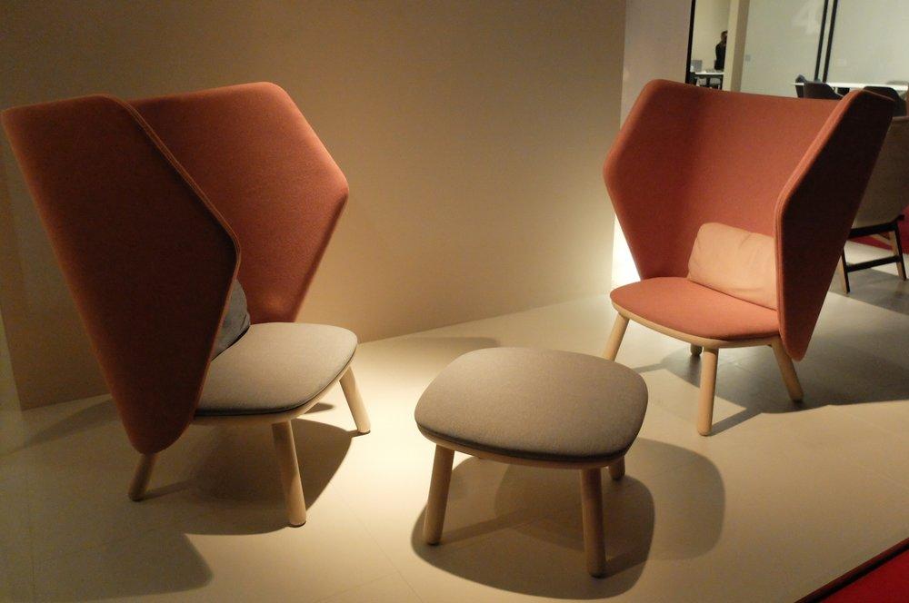 Ikkoku armchairs by Carlesti & Tonelli studio. BLIFASE