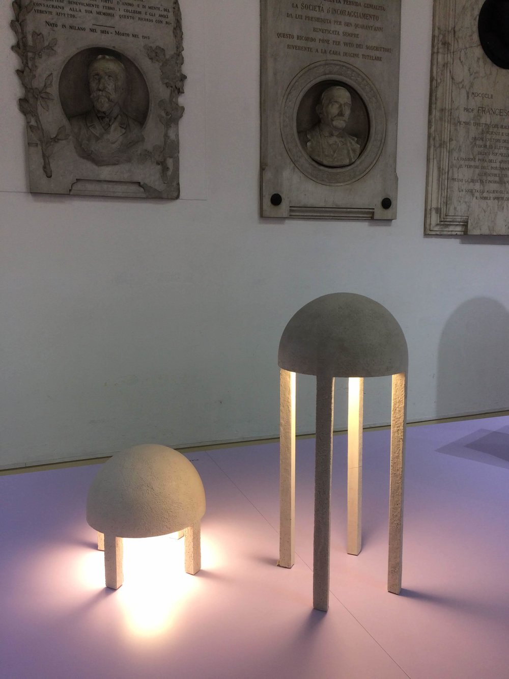 Jellyfish lamp by Emmanuelle Simon. THEOREME EDITIONS