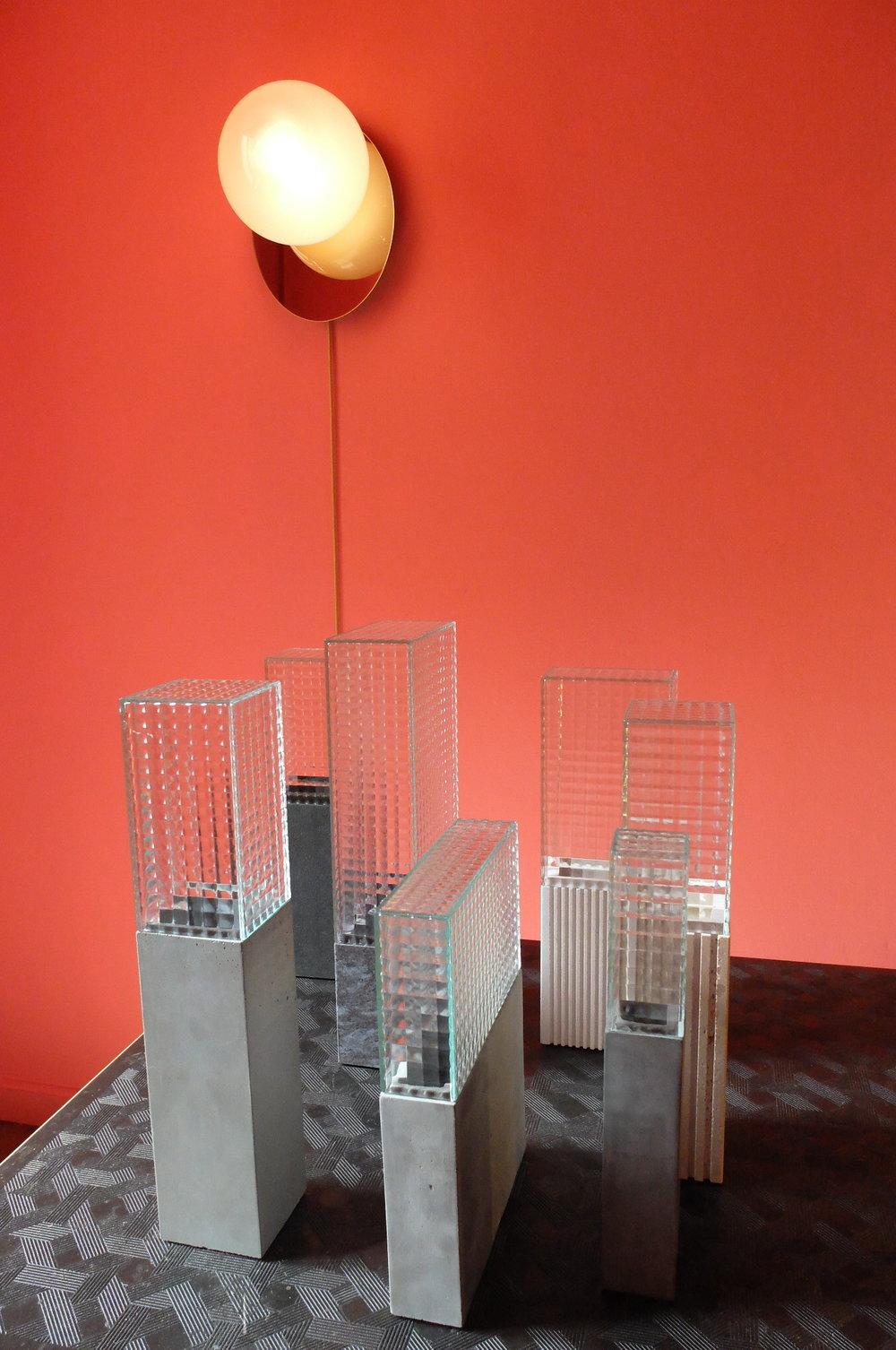 Home design experience. Vases Le 55 by Barbara Schweizer. PALERMO UNO