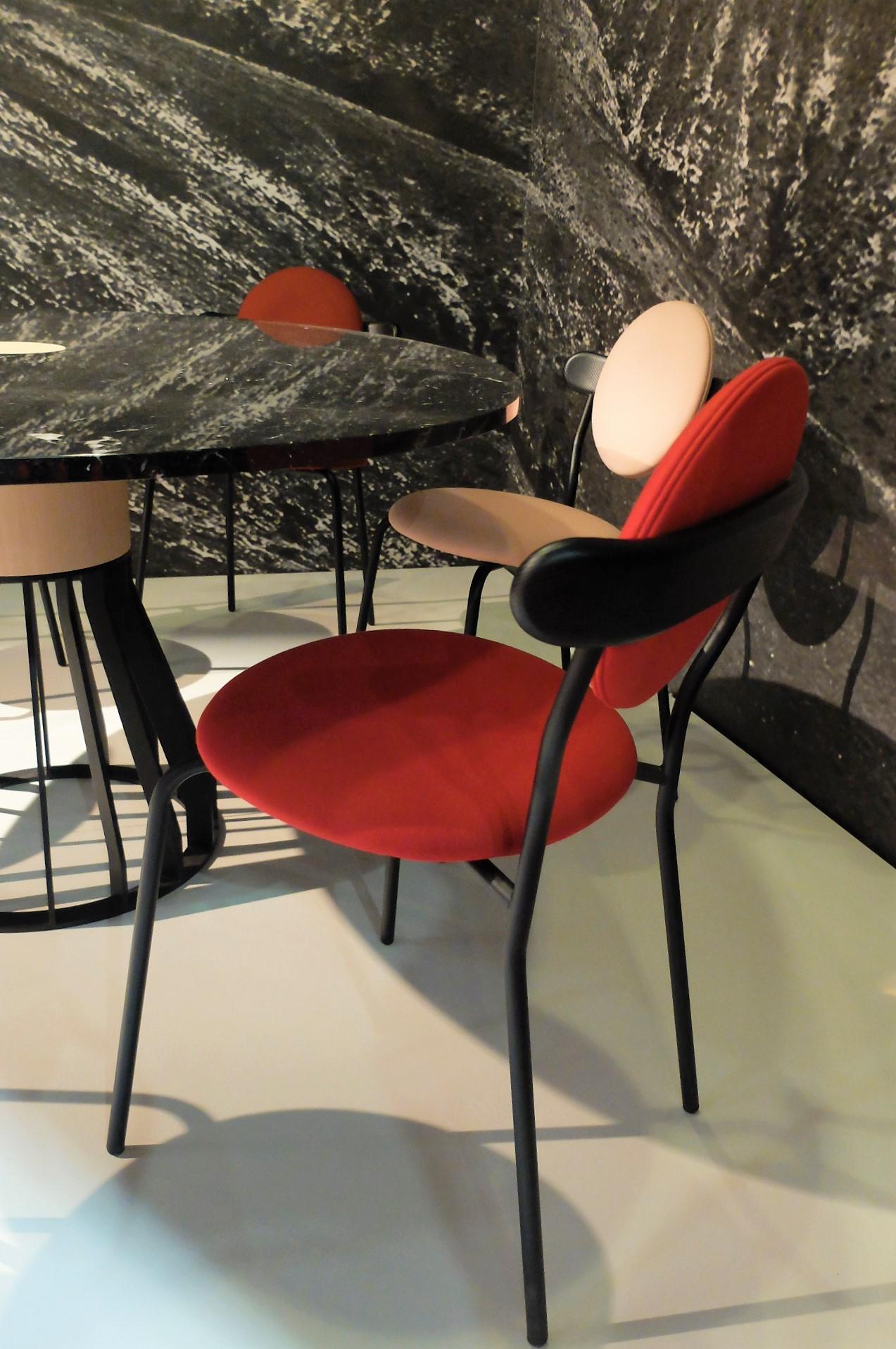 Planet chair by Jean-Baptiste Souletie. LA CHANCE