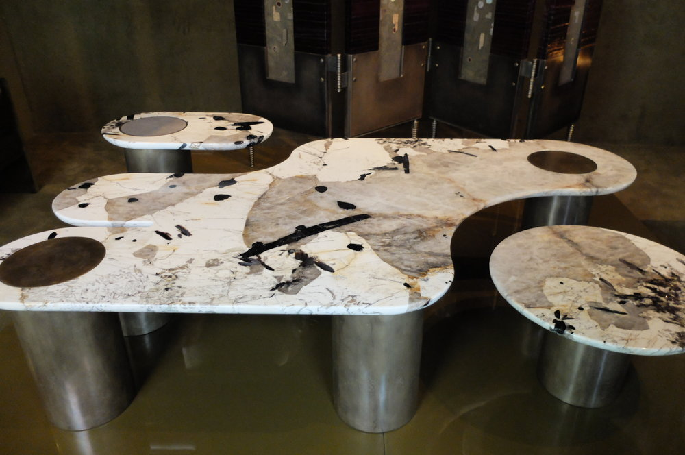 Interlude marble table. APPARATUS STUDIO