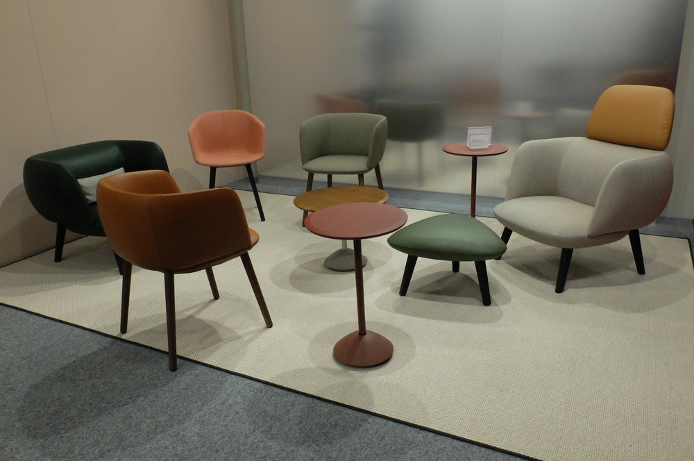 Betty lounge and Max chair by Christoph Jenni. RE MAX : ZERO WASTE. MAXDESIGN