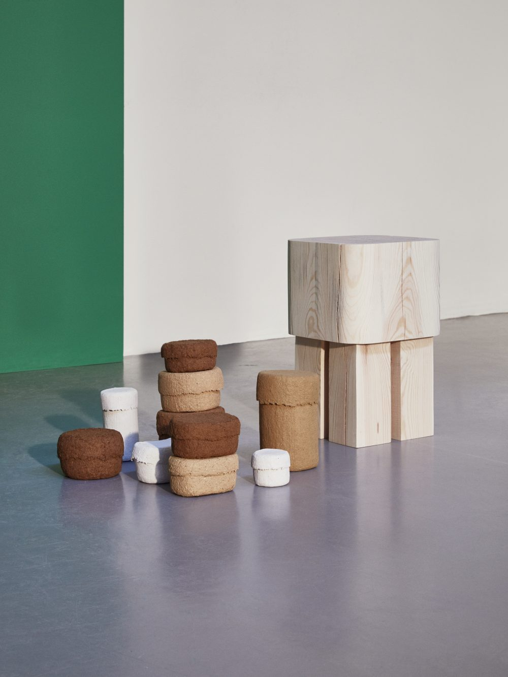 Down to earth by JENNIE ADEN : products sourced from local raw materials. HEMMA gone wild exhibition.