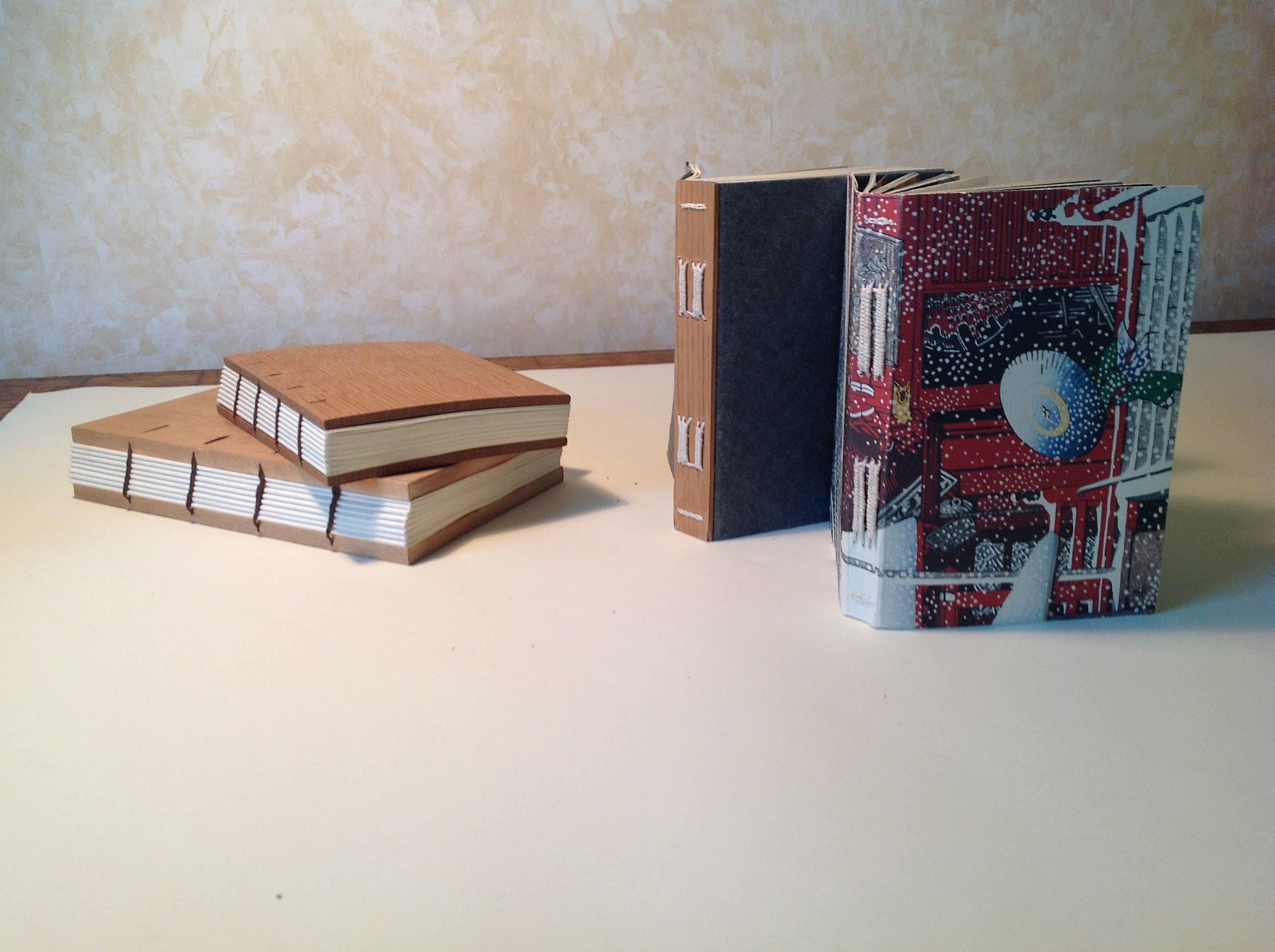I make books!