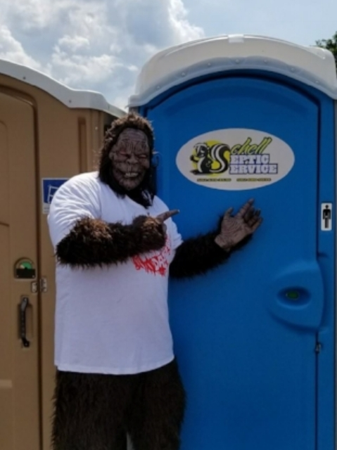 Sponsors like Schell Septic Service made Wildman Days 2018 a success!