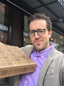 HaE Managing Director Mike Smith votes Doughnut Plant for the win in NYC