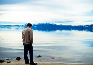 Freedman on the shores of Lake Tahoe (Photo credit: Zoila Albarinia)