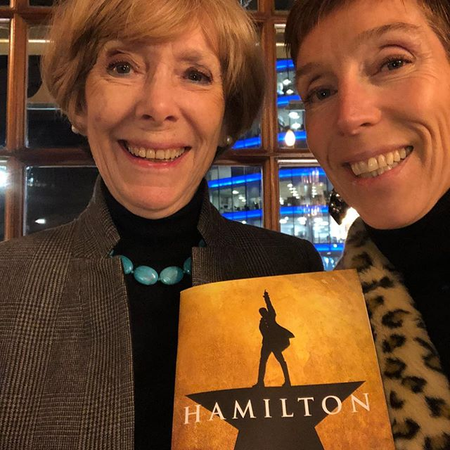 We loved it! Happy Birthday Mummy, great night out. ❤️❤️❤️#hamiltonmusical