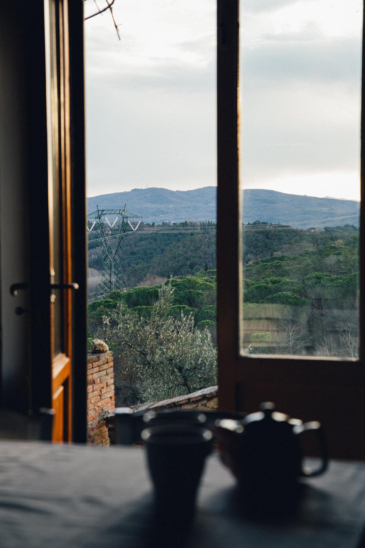 La Quercia Estate in Tuscany, Italy, February 2017