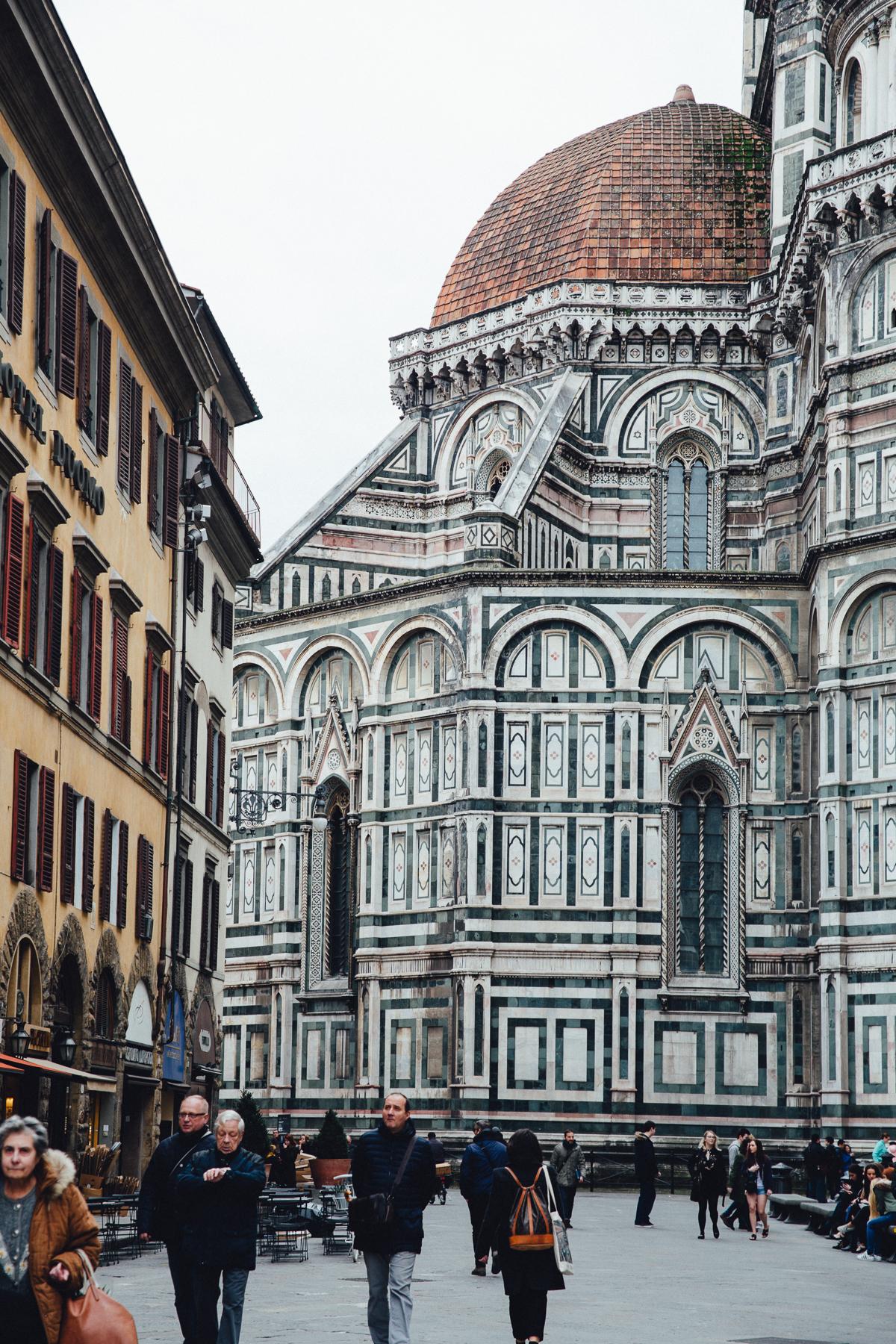 Santa Maria del Fiore in Florence, Italy, February 2017