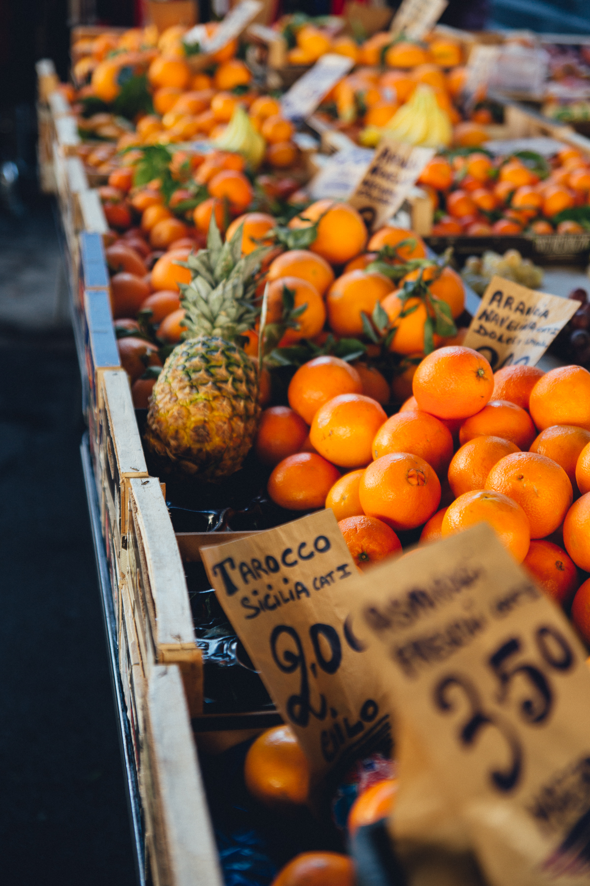 Farmer's Market in Florence, Italy, February 2017
