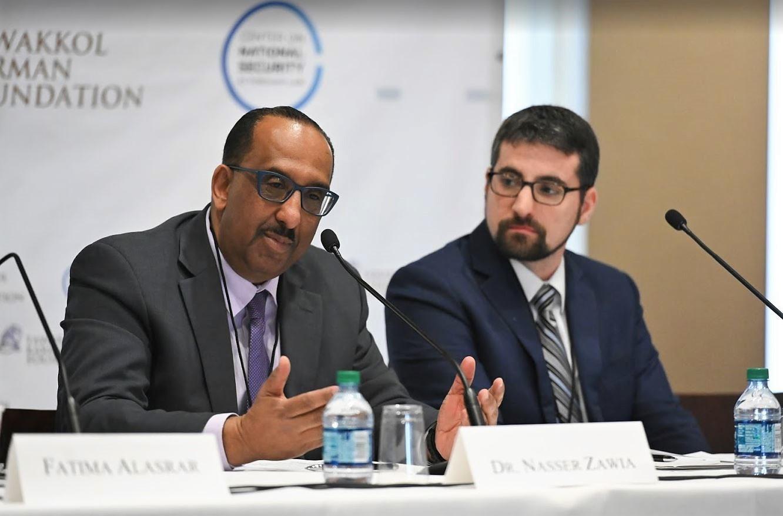 Dr. Nasser Zawia speaking.JPG