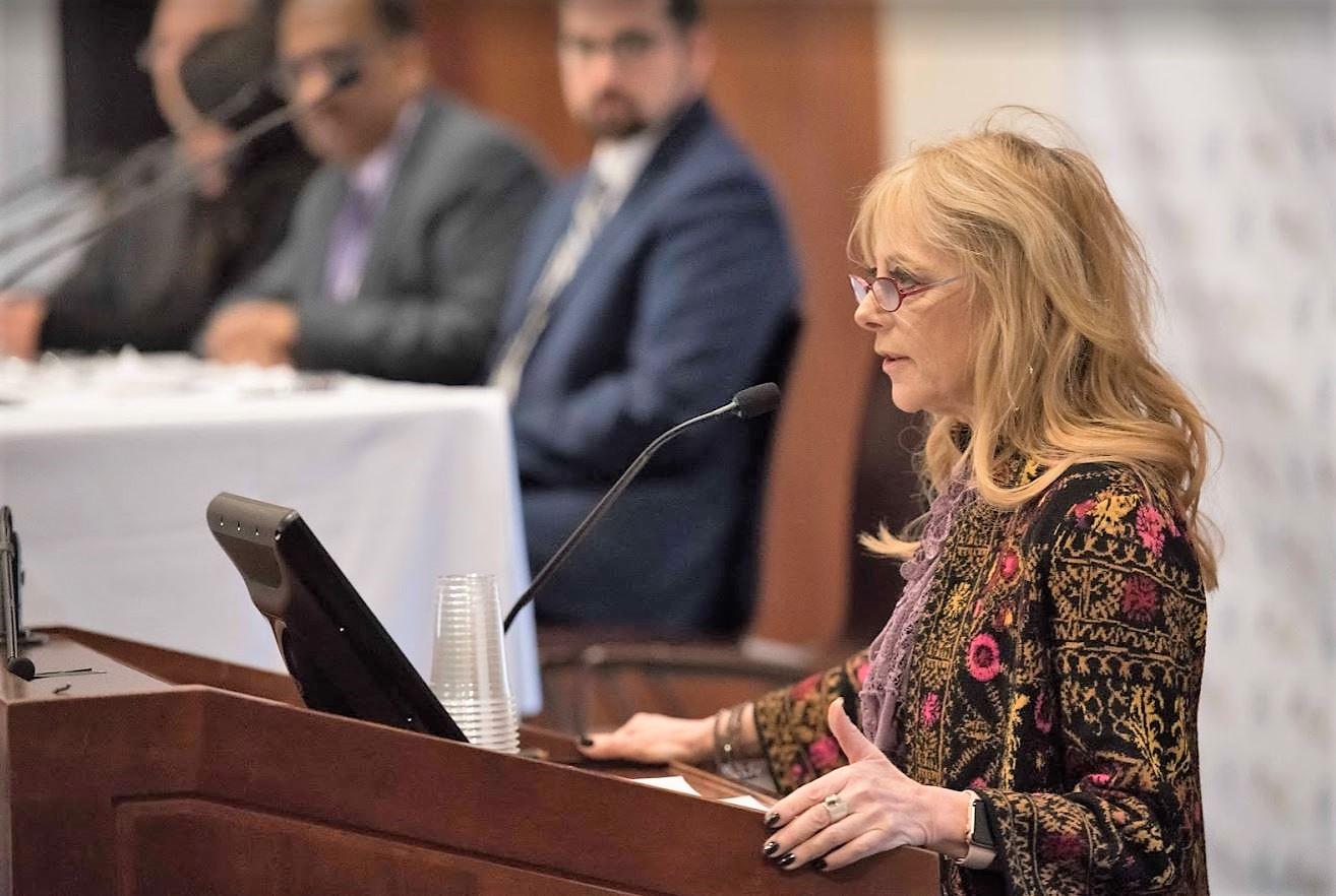 Karen Greenberg remarks.JPG