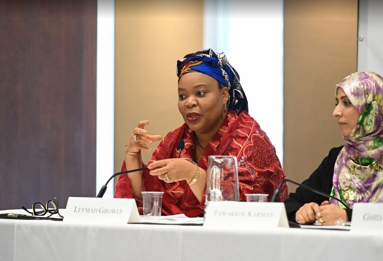 Leymah Gbowee speaking.JPG