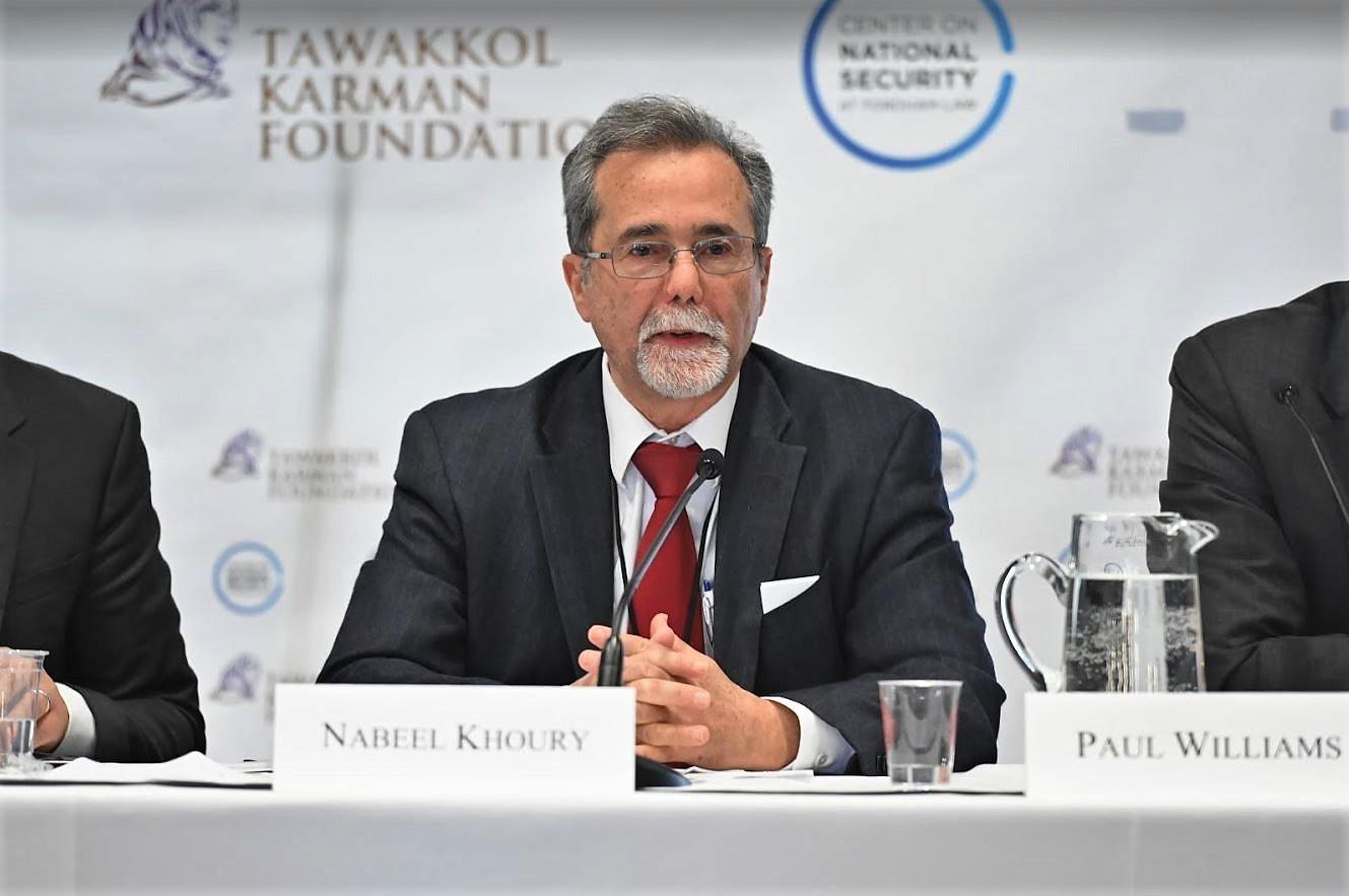 Nabeel Khoury speaking.JPG