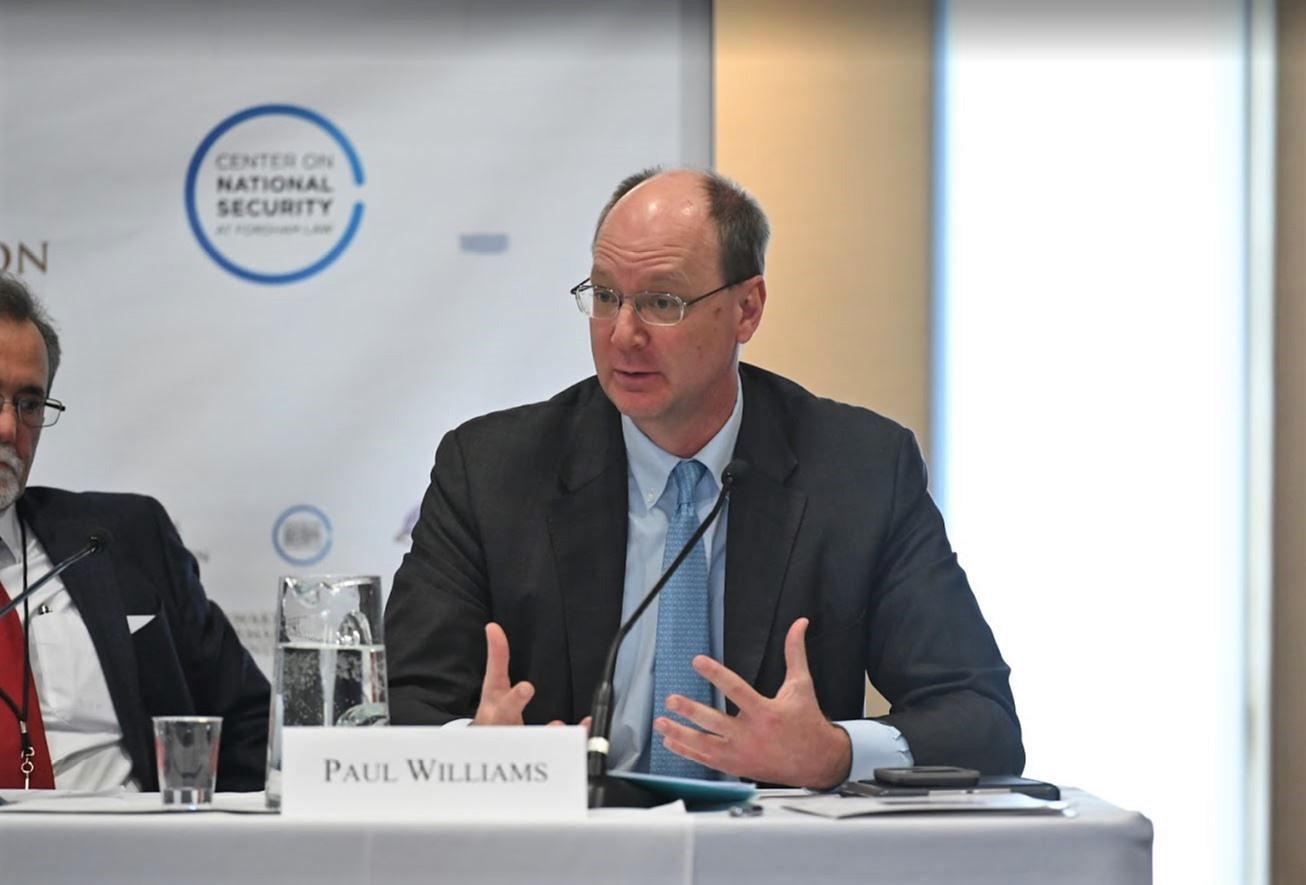 Paul Williams speaking.JPG