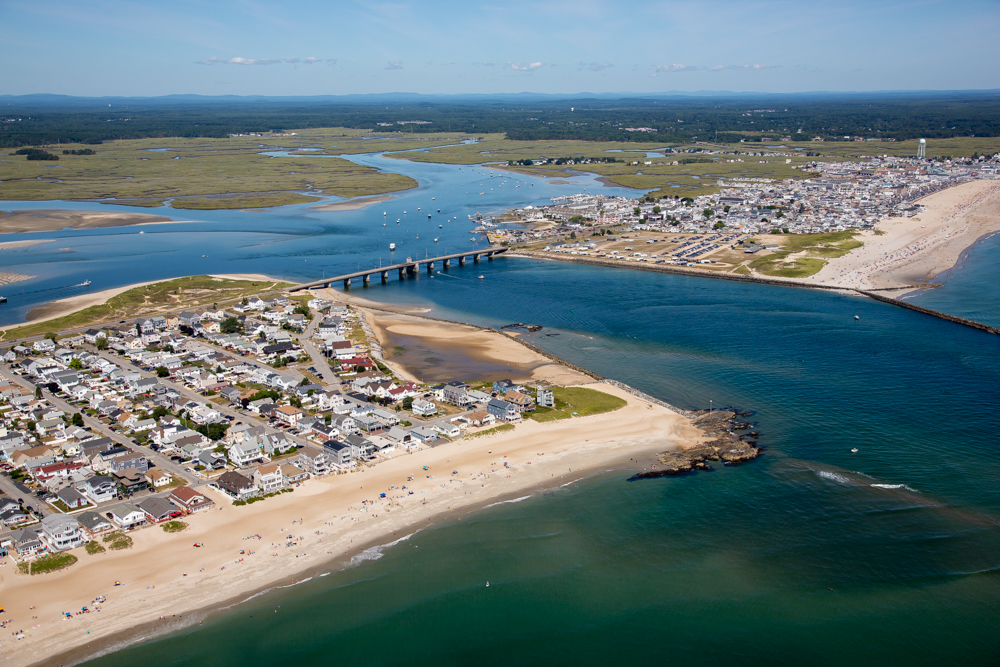 Beach Tour - The Hampton Beach tour flies you over 40 miles of New Hampshire and Massachusetts beaches, rivers, and landmarks. Don't miss the famous Merrimack River and the beautiful Hampton Beach State Park this summer!Photos courtesy of Maine Imaging