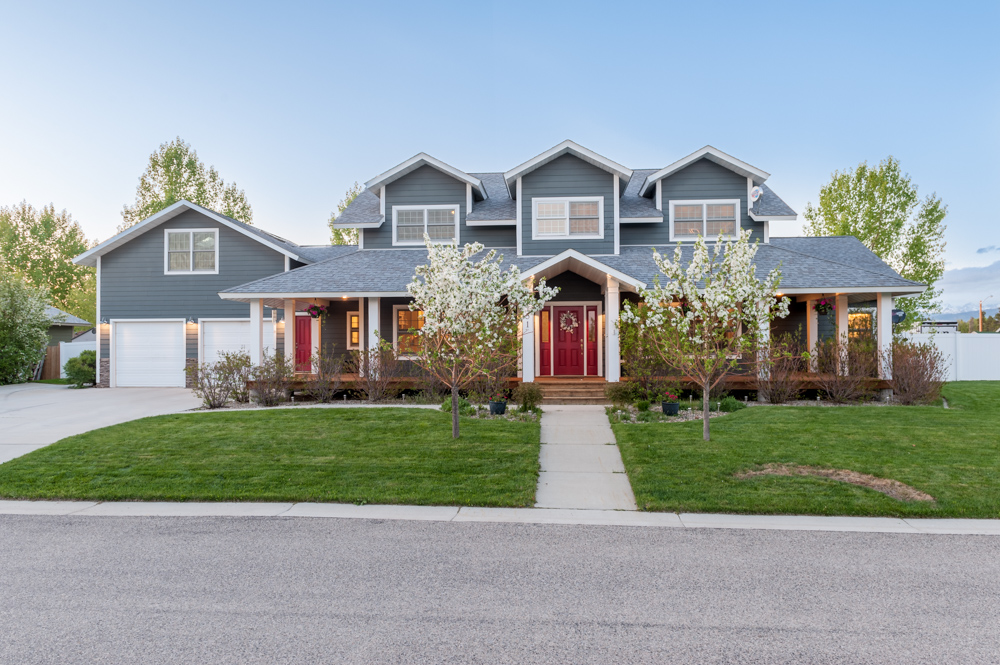 Pinedale Wyoming Real Estate Listing Photo