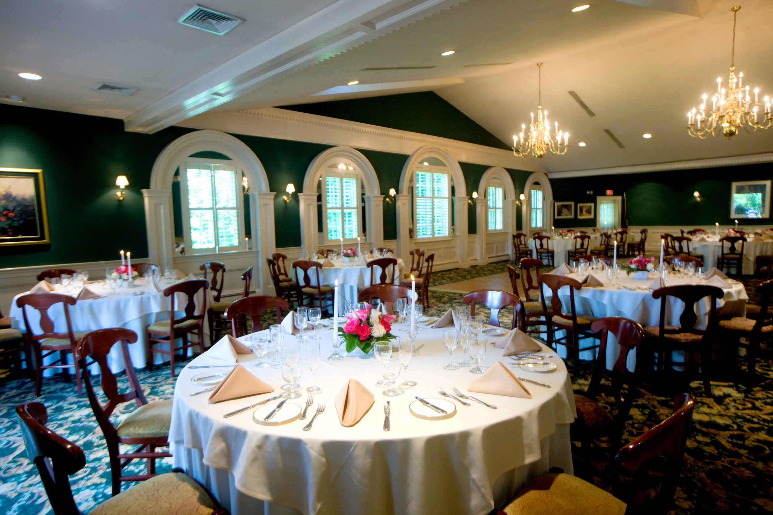 OUR SPACE - Vickers is a restored 1820s farmhouse in the heart of Chester County. In the historic home you will fine 4 private dining rooms that can accommodate from 15-40 guests and our Plantation Ballroom that is perfect for larger groups and cocktail parties of 50-150 depending on the style of your event. Our Bar are is a wonderful option for a small happy hour or casual gathering of friends and colleagues.