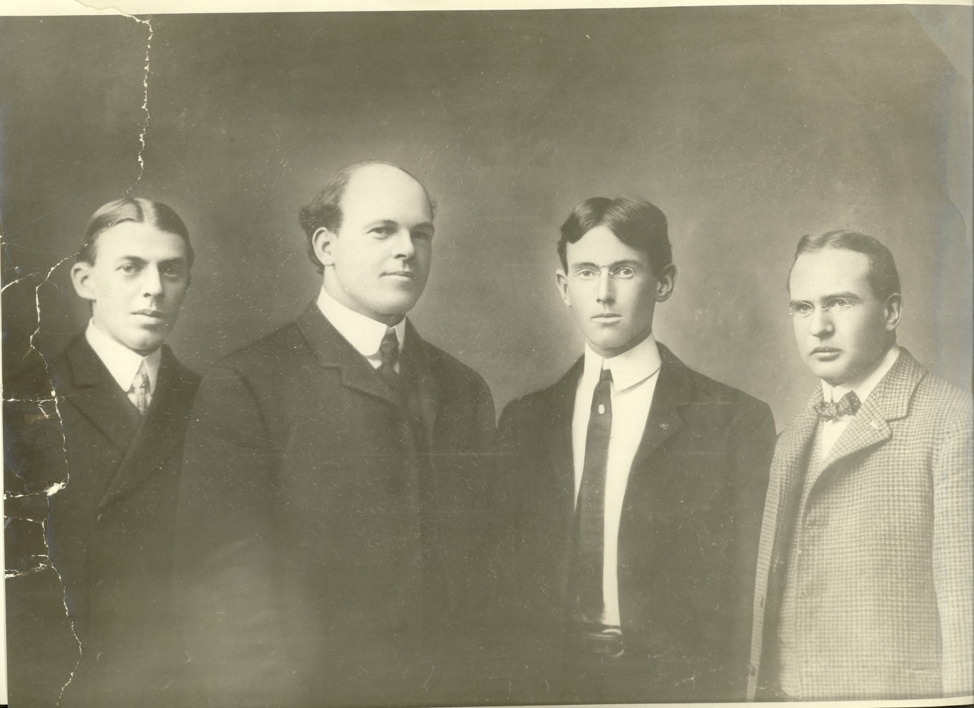 Woodrow Wilson and the Jefferson Society Members