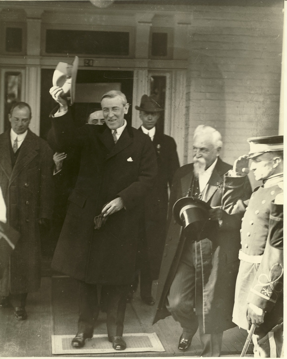 Woodrow Wilson Visiting Staunton Again
