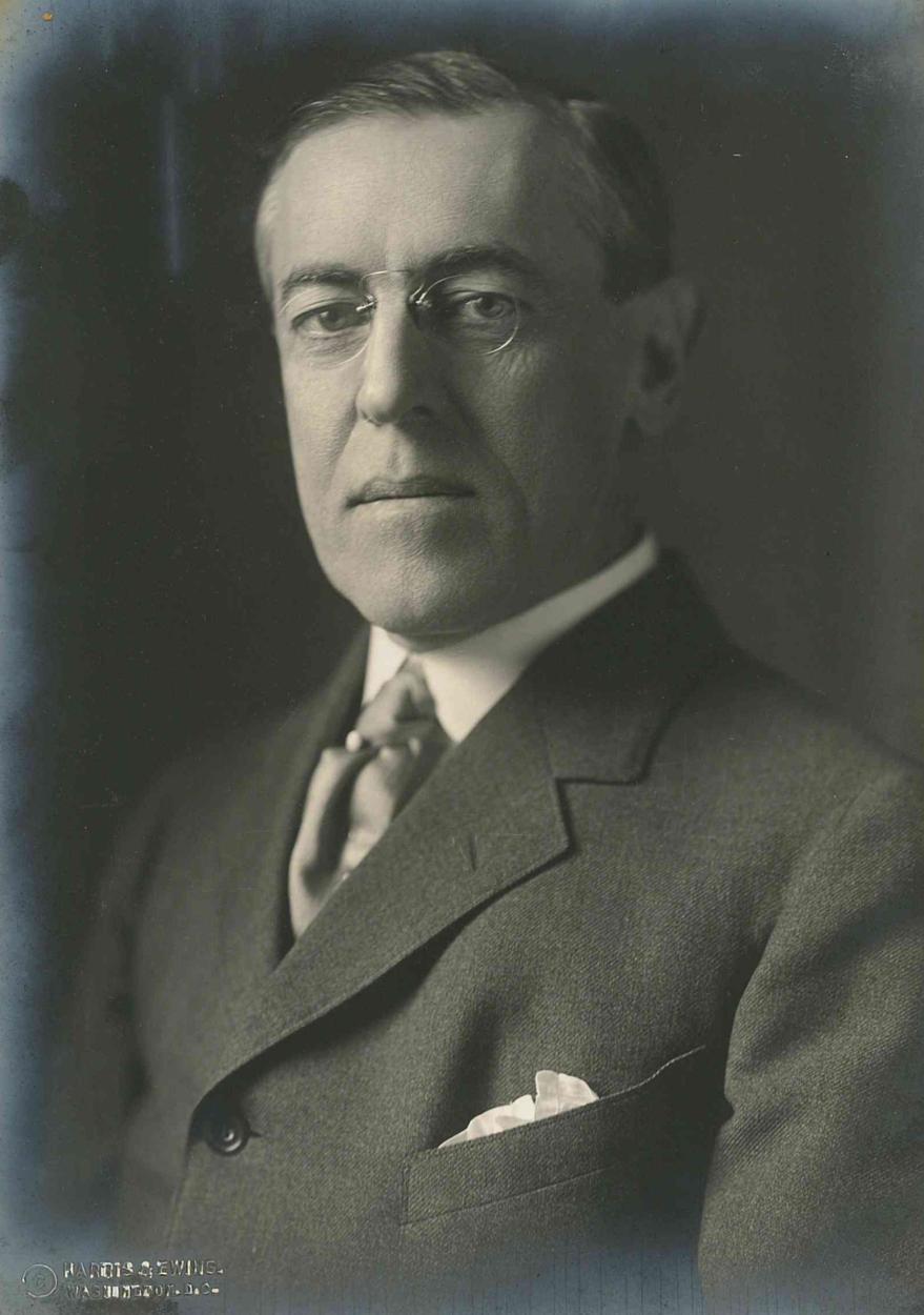 Woodrow Wilson in 1900